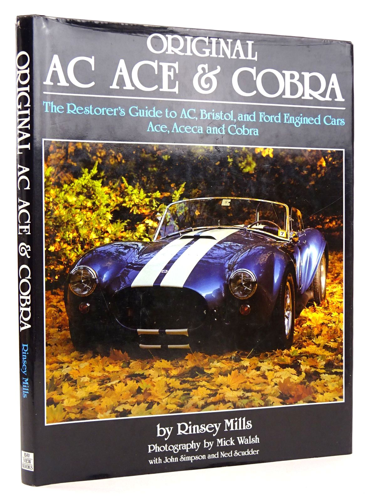 Photo of ORIGINAL AC ACE & COBRA written by Mills, Rinsey published by Bay View Books (STOCK CODE: 1818577)  for sale by Stella & Rose's Books