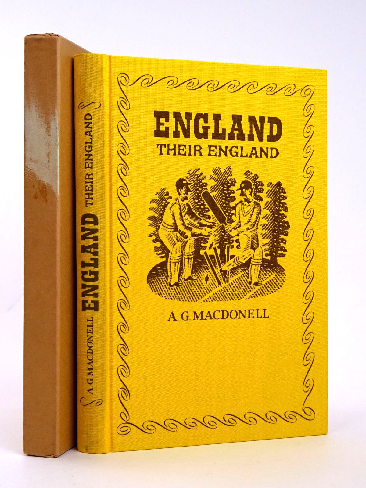 Photo of ENGLAND THEIR ENGLAND written by MacDonell, A.G. Vickers, Hugo illustrated by Brookes, Peter published by Folio Society (STOCK CODE: 1818581)  for sale by Stella & Rose's Books