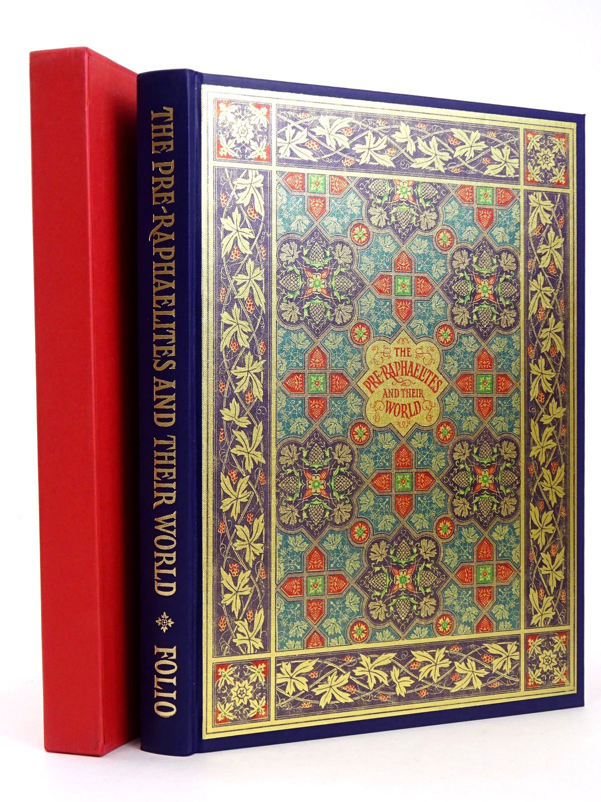 Photo of THE PRE-RAPHAELITES & THEIR WORLD written by Rossetti, William Michael<br />Thirlwell, Angela published by Folio Society (STOCK CODE: 1818585)  for sale by Stella & Rose's Books