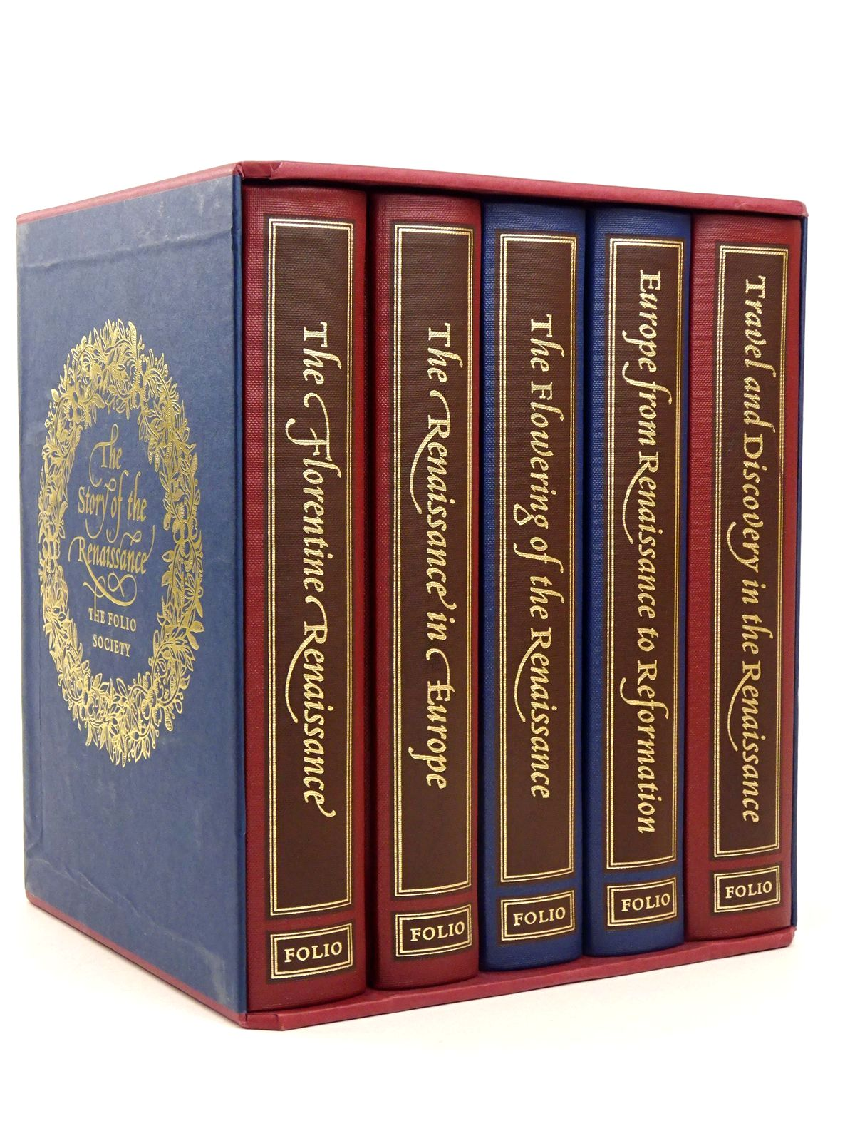 Photo of THE STORY OF THE RENAISSANCE (5 VOLUMES) written by Penrose, Boies<br />Elton, G.R.<br />Hale, J.R.<br />Cronin, Vincent published by Folio Society (STOCK CODE: 1818587)  for sale by Stella & Rose's Books