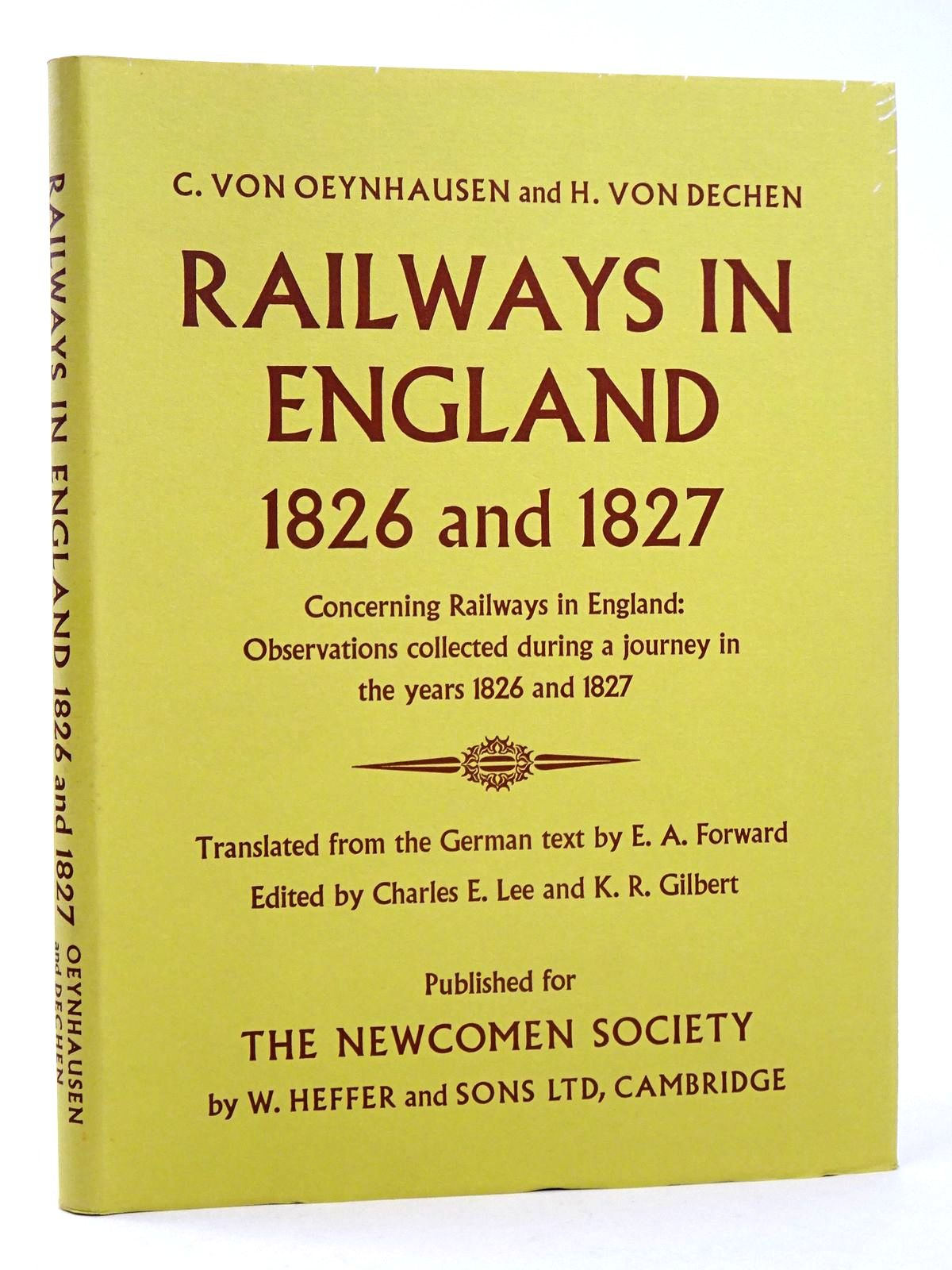 Photo of RAILWAYS IN ENGLAND 1826 AND 1827- Stock Number: 1818589