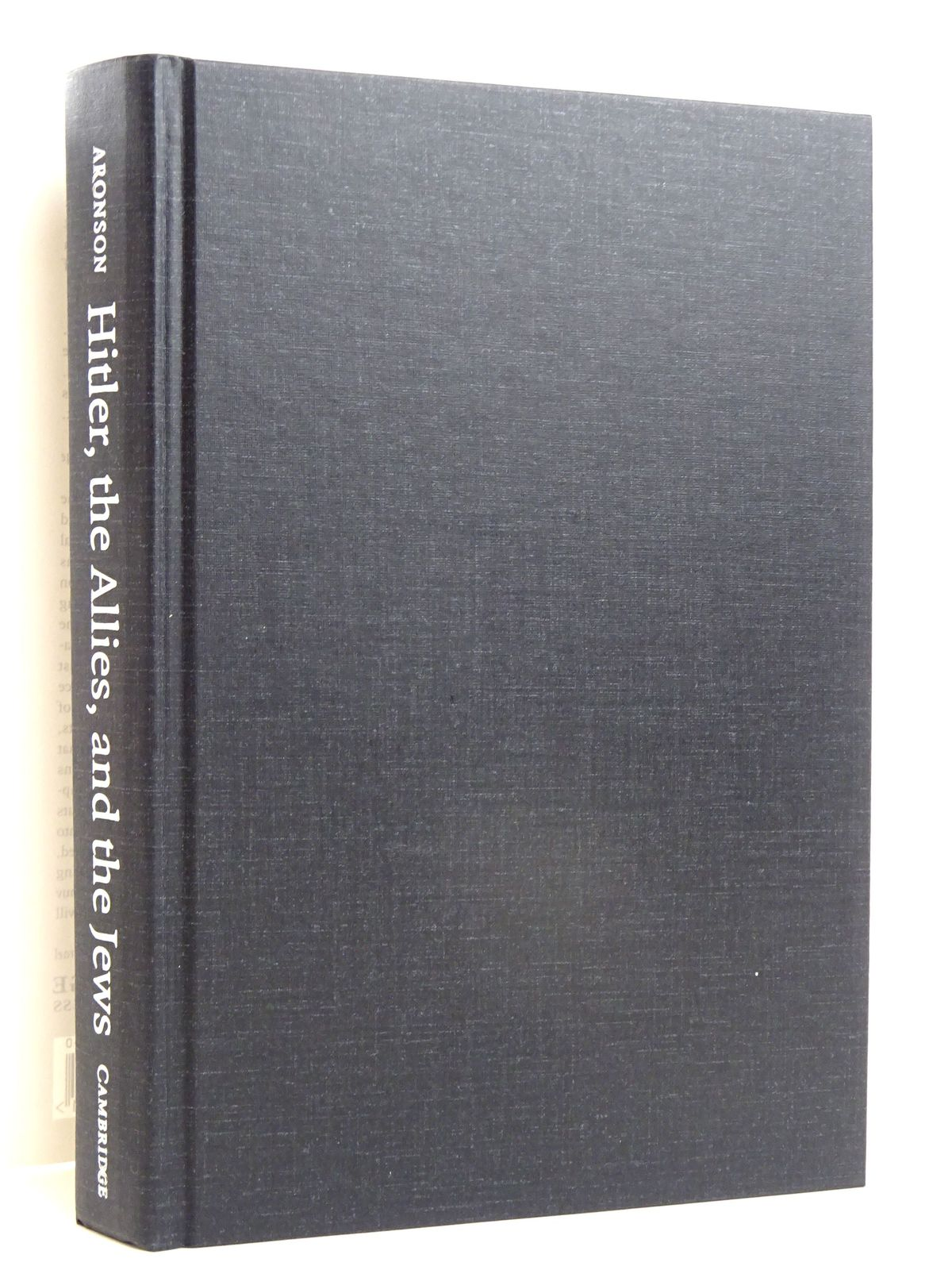 Photo of HITLER, THE ALLIES, AND THE JEWS written by Aronson, Shlomo published by Cambridge University Press (STOCK CODE: 1818599)  for sale by Stella & Rose's Books