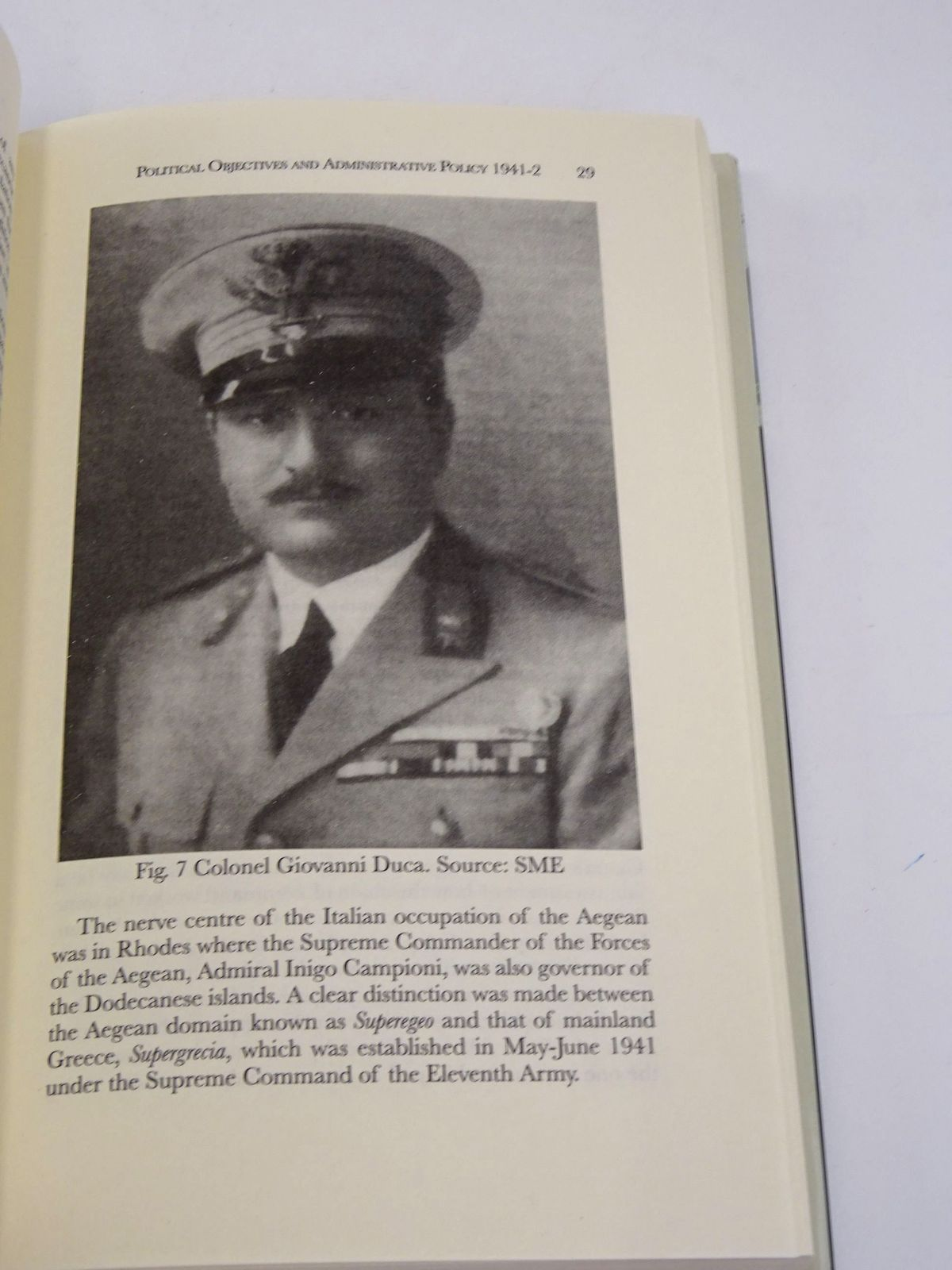 Photo of MUSSOLINI'S GREEK ISLAND: FASCISM AND THE ITALIAN OCCUPATION OF SYROS IN WORLD WAR II written by Lecoeur, Sheila published by Tauris Academic Studies (STOCK CODE: 1818600)  for sale by Stella & Rose's Books