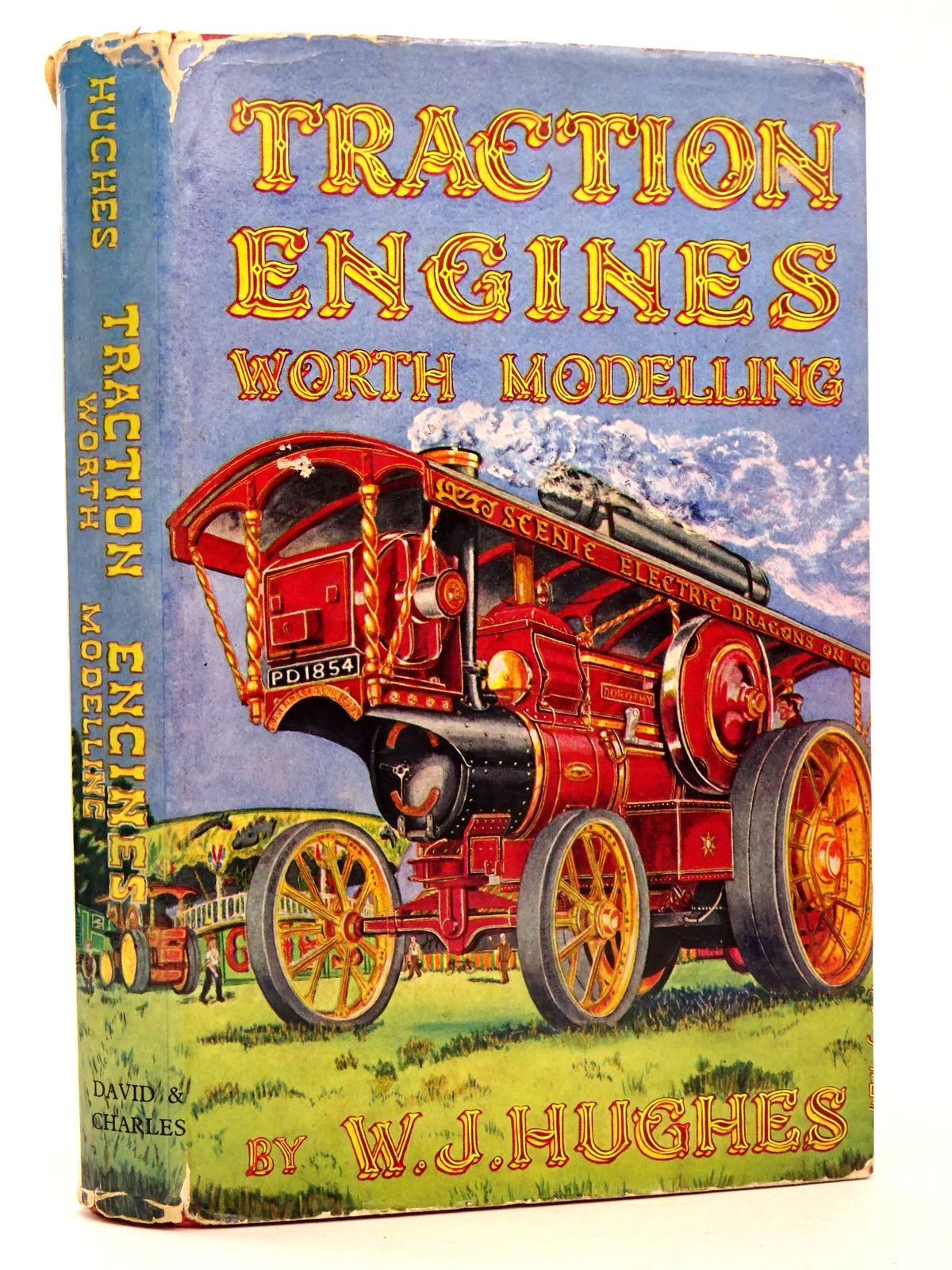 Photo of TRACTION ENGINES WORTH MODELLING -AND HOW TO MODEL THEM written by Hughes, W.J. published by David & Charles (STOCK CODE: 1818613)  for sale by Stella & Rose's Books