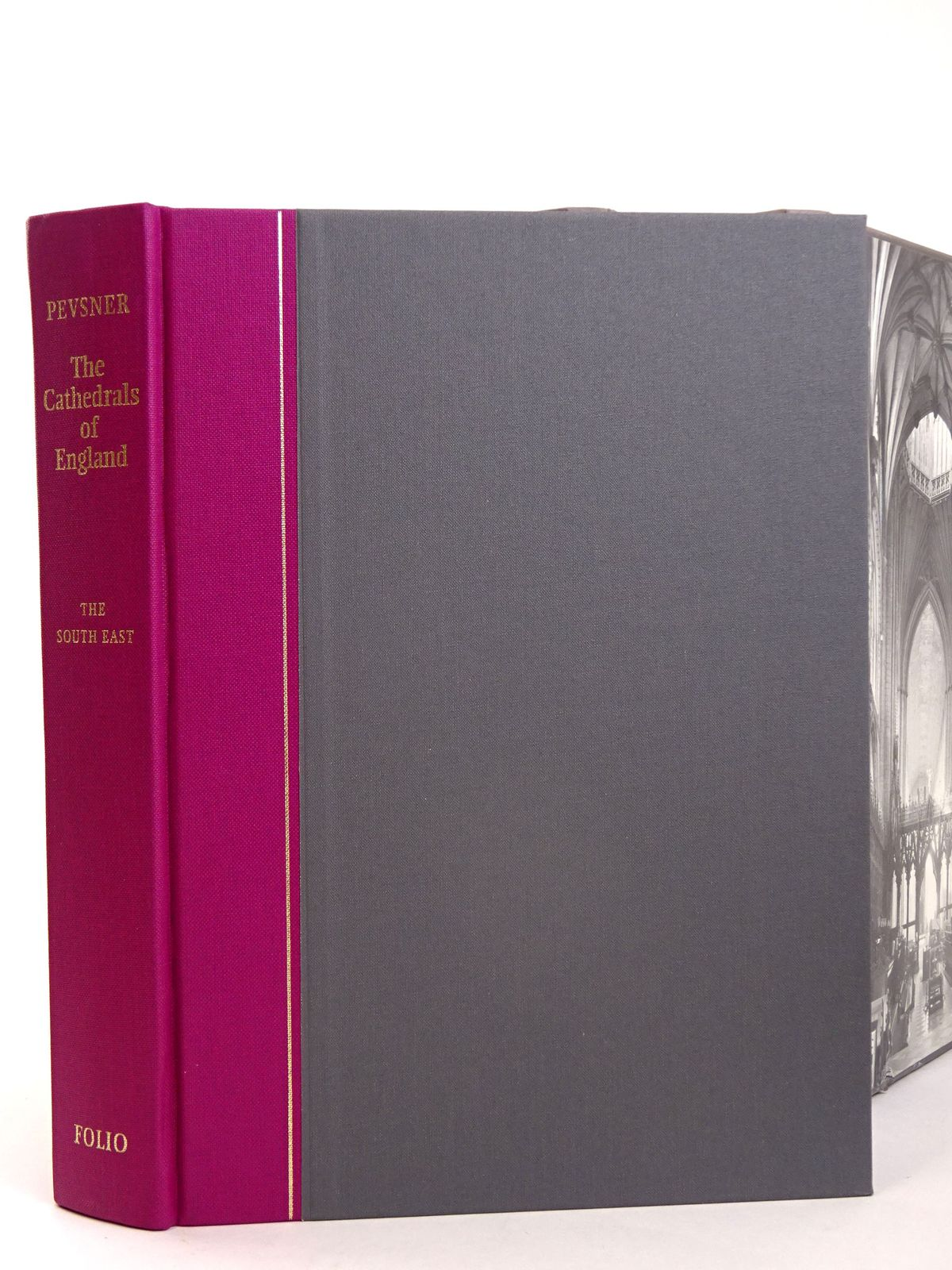 Photo of THE CATHEDRALS OF ENGLAND (3 VOLUMES) written by Pevsner, Nikolaus published by Folio Society (STOCK CODE: 1818650)  for sale by Stella & Rose's Books