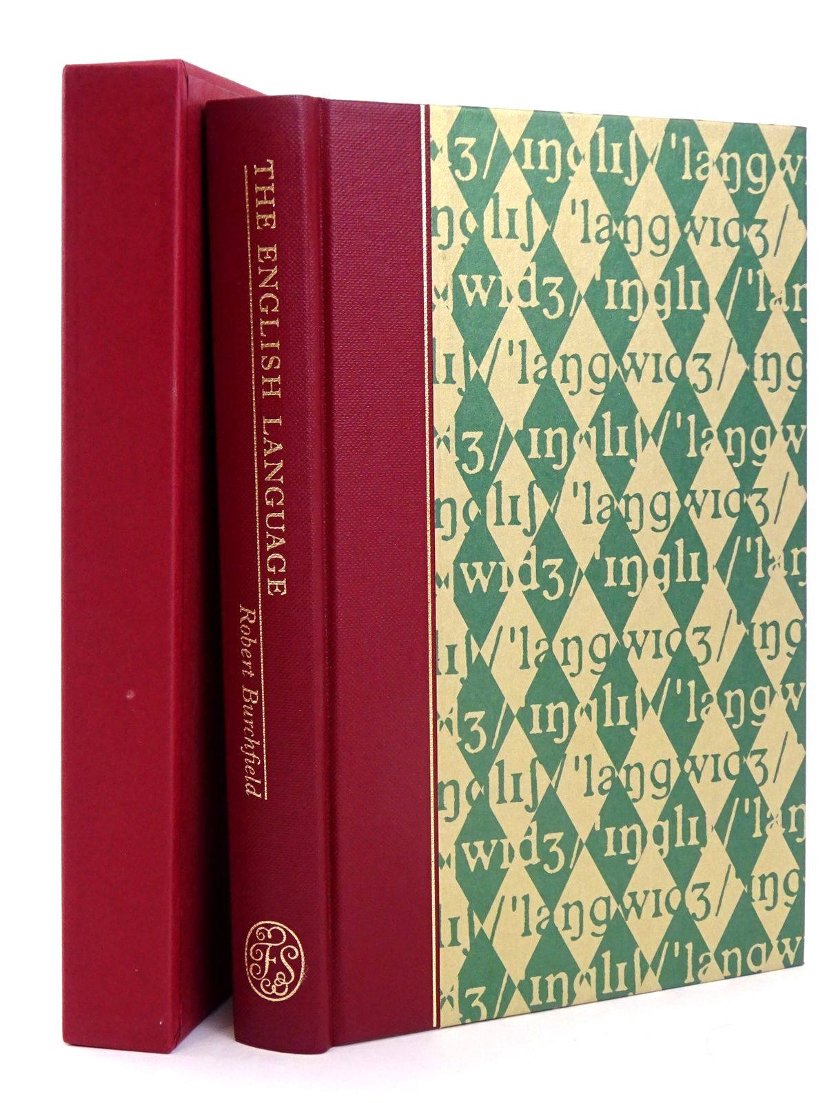 Photo of THE ENGLISH LANGUAGE written by Burchfield, Robert McCrum, Robert Simpson, John published by Folio Society (STOCK CODE: 1818651)  for sale by Stella & Rose's Books