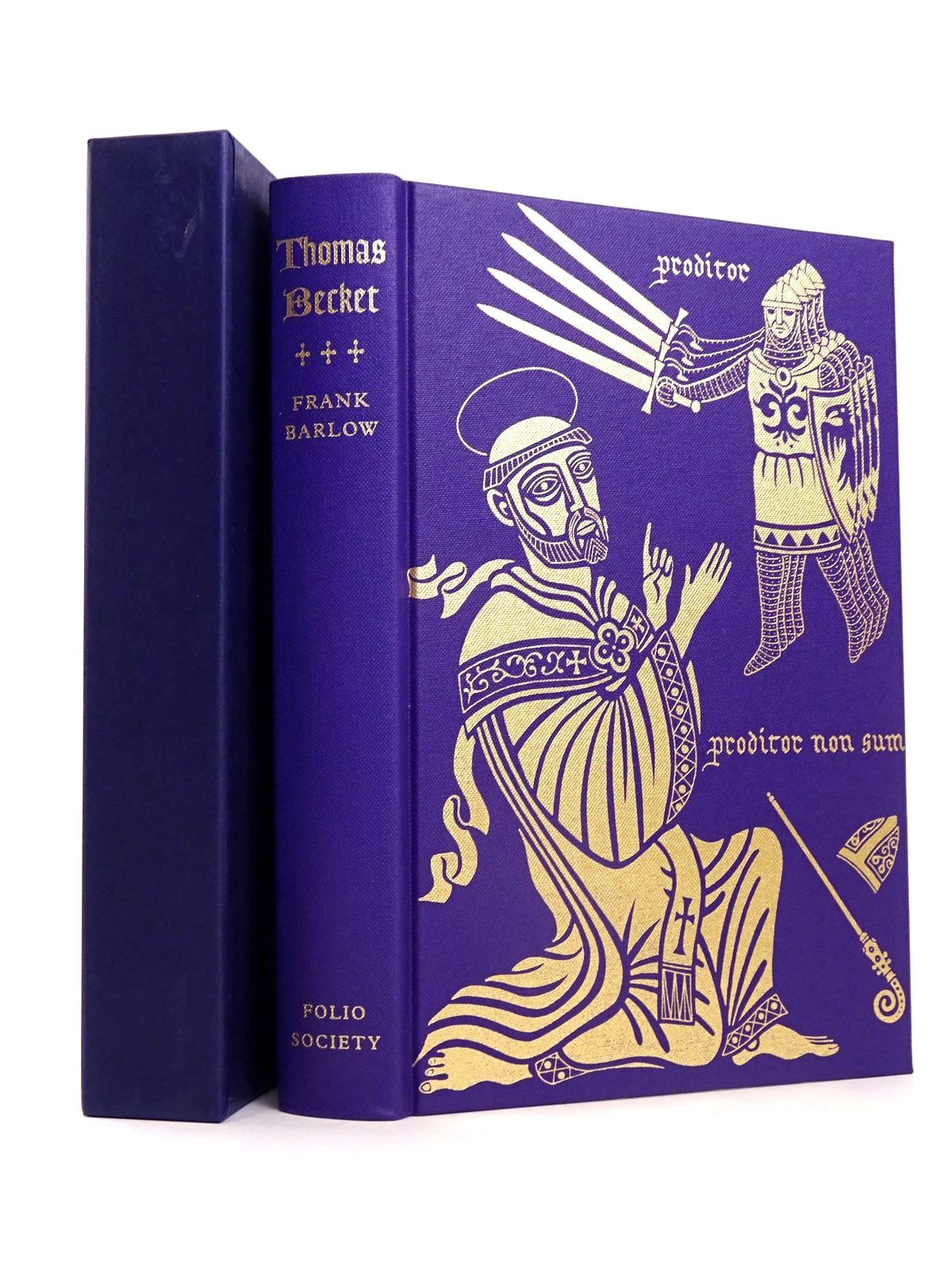 Photo of THOMAS BECKET written by Barlow, Frank published by Folio Society (STOCK CODE: 1818652)  for sale by Stella & Rose's Books