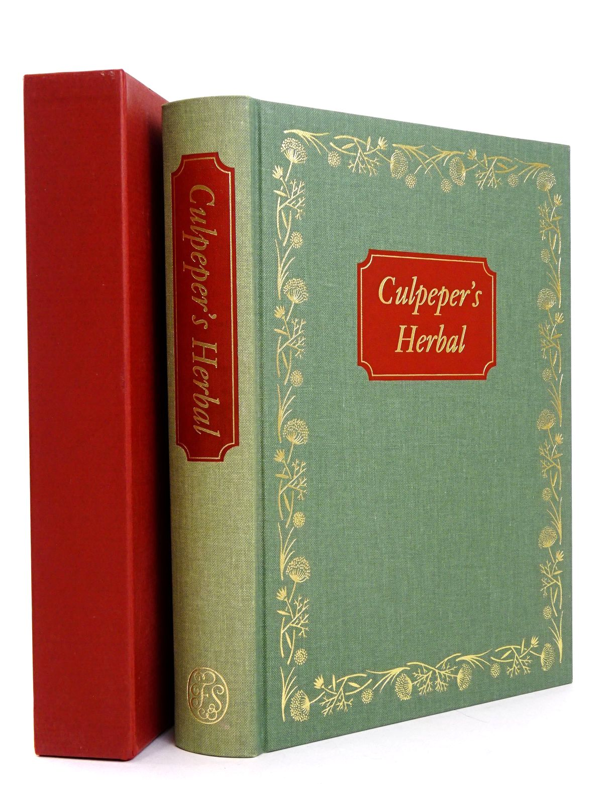 Photo of CULPEPER'S HERBAL written by Culpeper, Nicholas published by Folio Society (STOCK CODE: 1818655)  for sale by Stella & Rose's Books