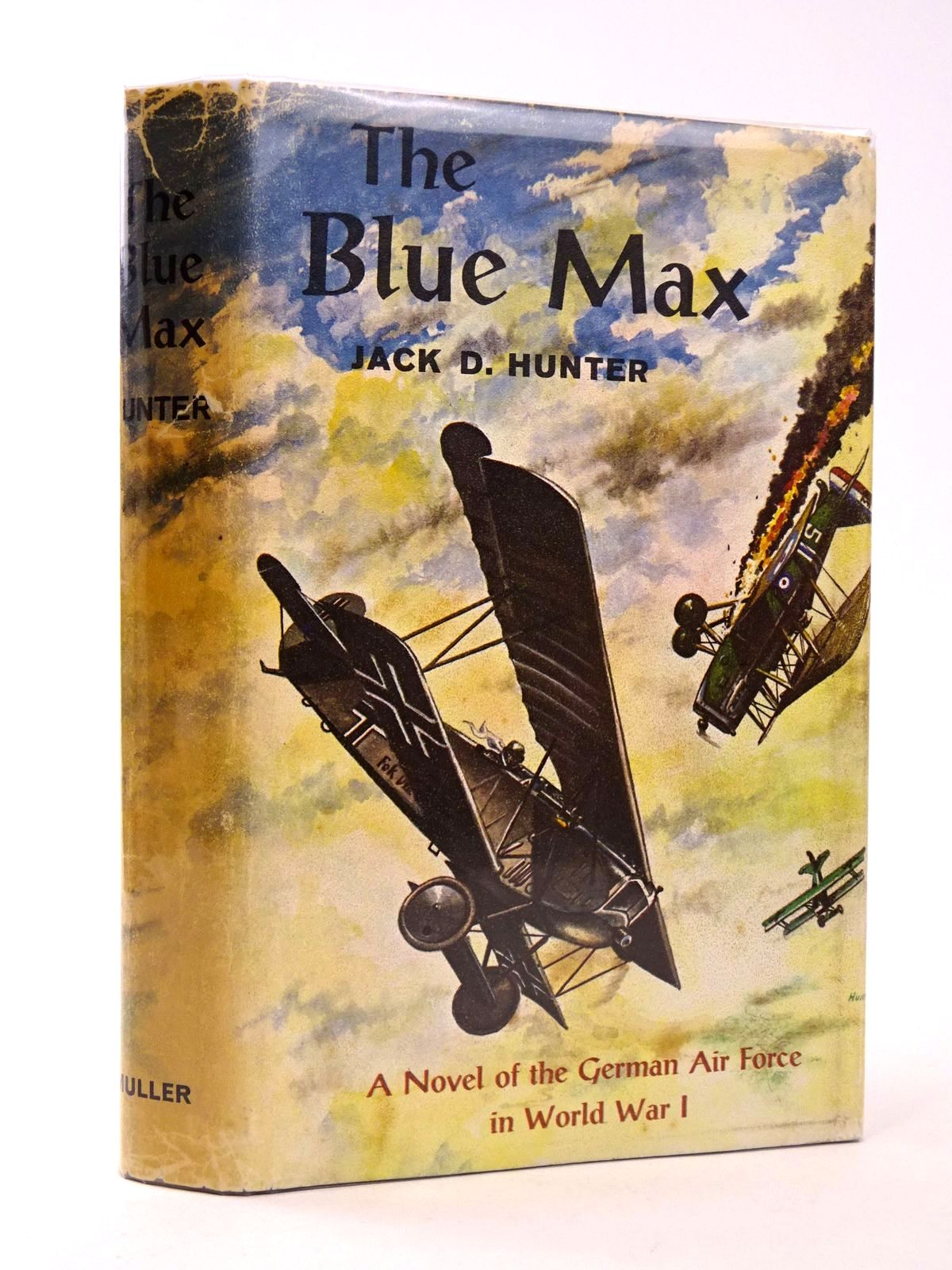 Photo of THE BLUE MAX written by Hunter, Jack D. published by Frederick Muller Limited (STOCK CODE: 1818660)  for sale by Stella & Rose's Books