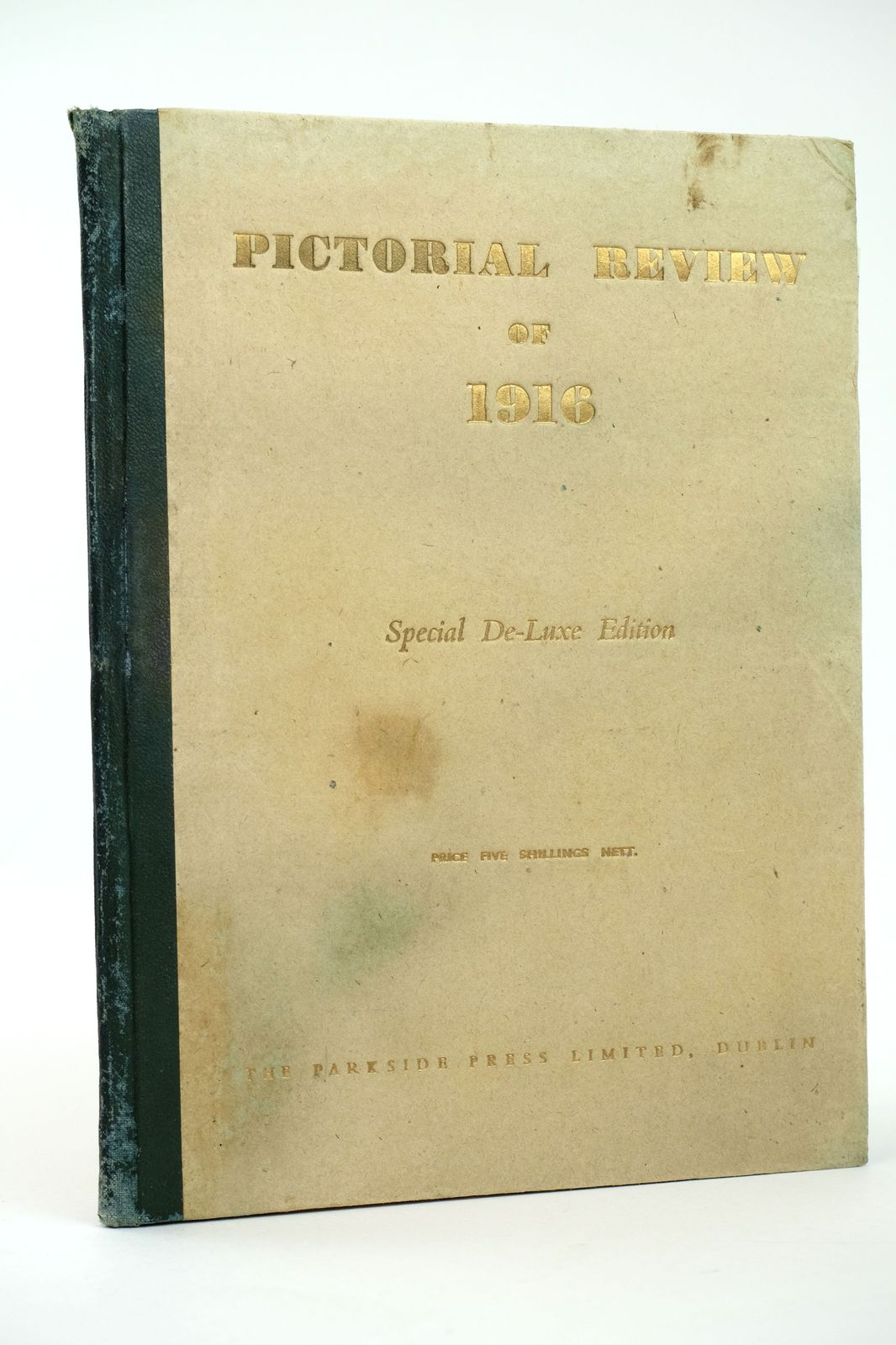 Photo of PICTORIAL REVIEW OF 1916 written by Kelly, S.P. published by The Parkside Press Limited (STOCK CODE: 1818674)  for sale by Stella & Rose's Books
