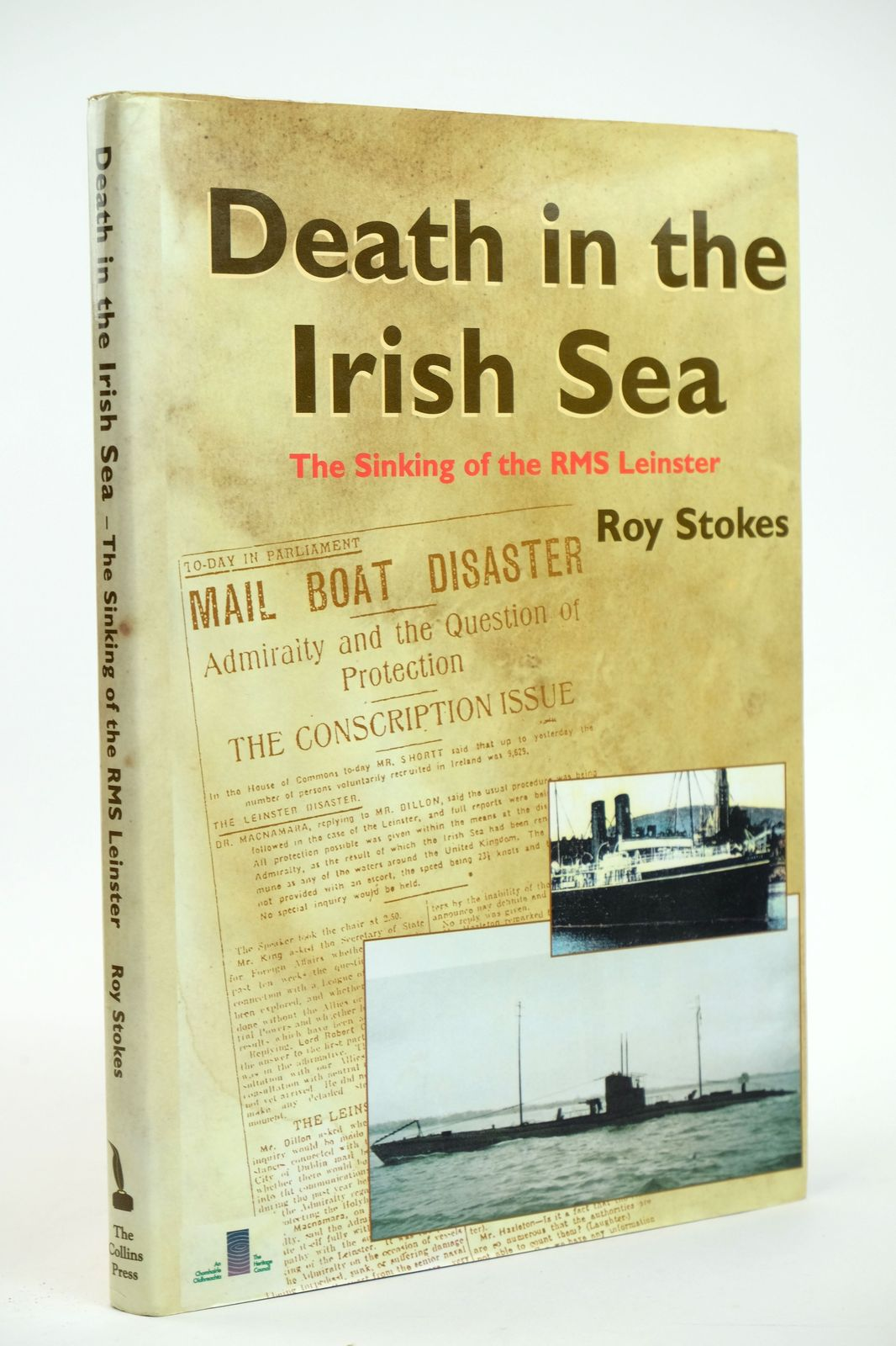 Photo of DEATH IN THE IRISH SEA: THE SINKING OF THE RMS LEINSTER written by Stokes, Roy published by The Collins Press (STOCK CODE: 1818675)  for sale by Stella & Rose's Books
