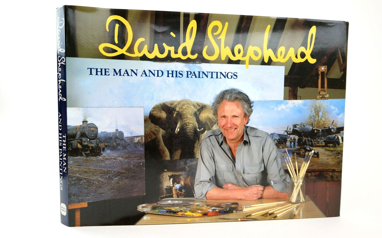 Photo of DAVID SHEPHERD THE MAN AND HIS PAINTINGS