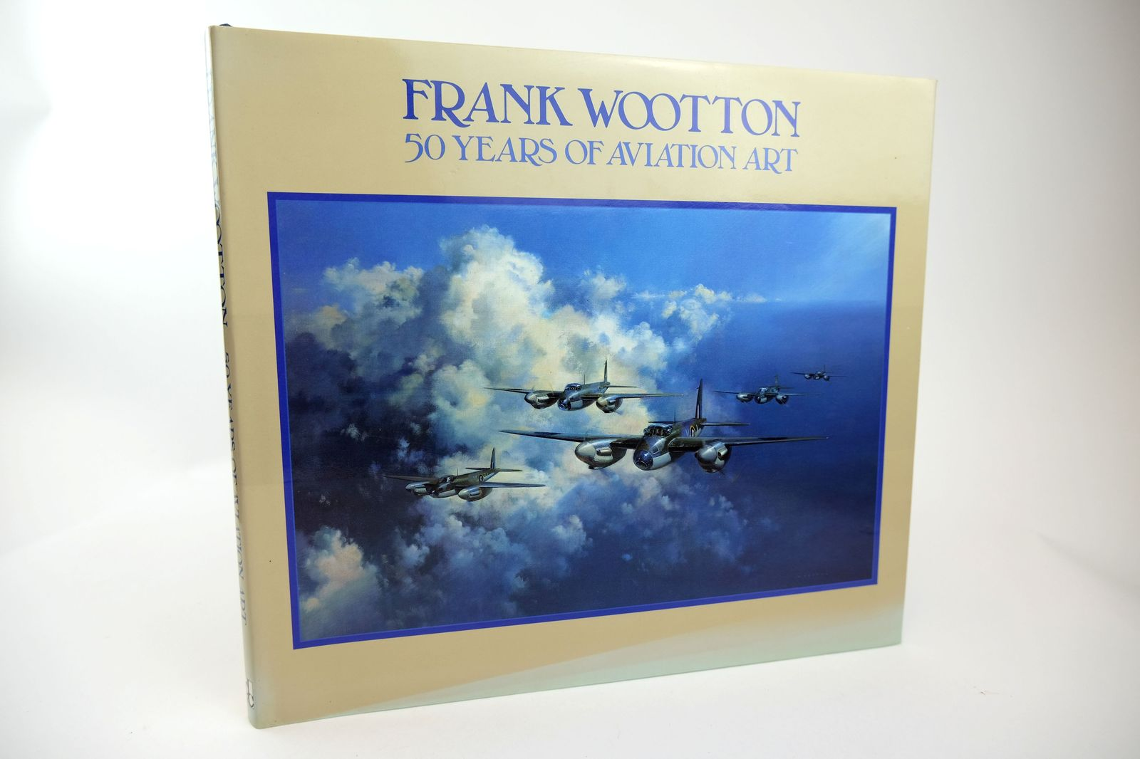 Photo of 50 YEARS OF AVIATION ART written by Wootton, Frank illustrated by Wootton, Frank published by David & Charles (STOCK CODE: 1818686)  for sale by Stella & Rose's Books