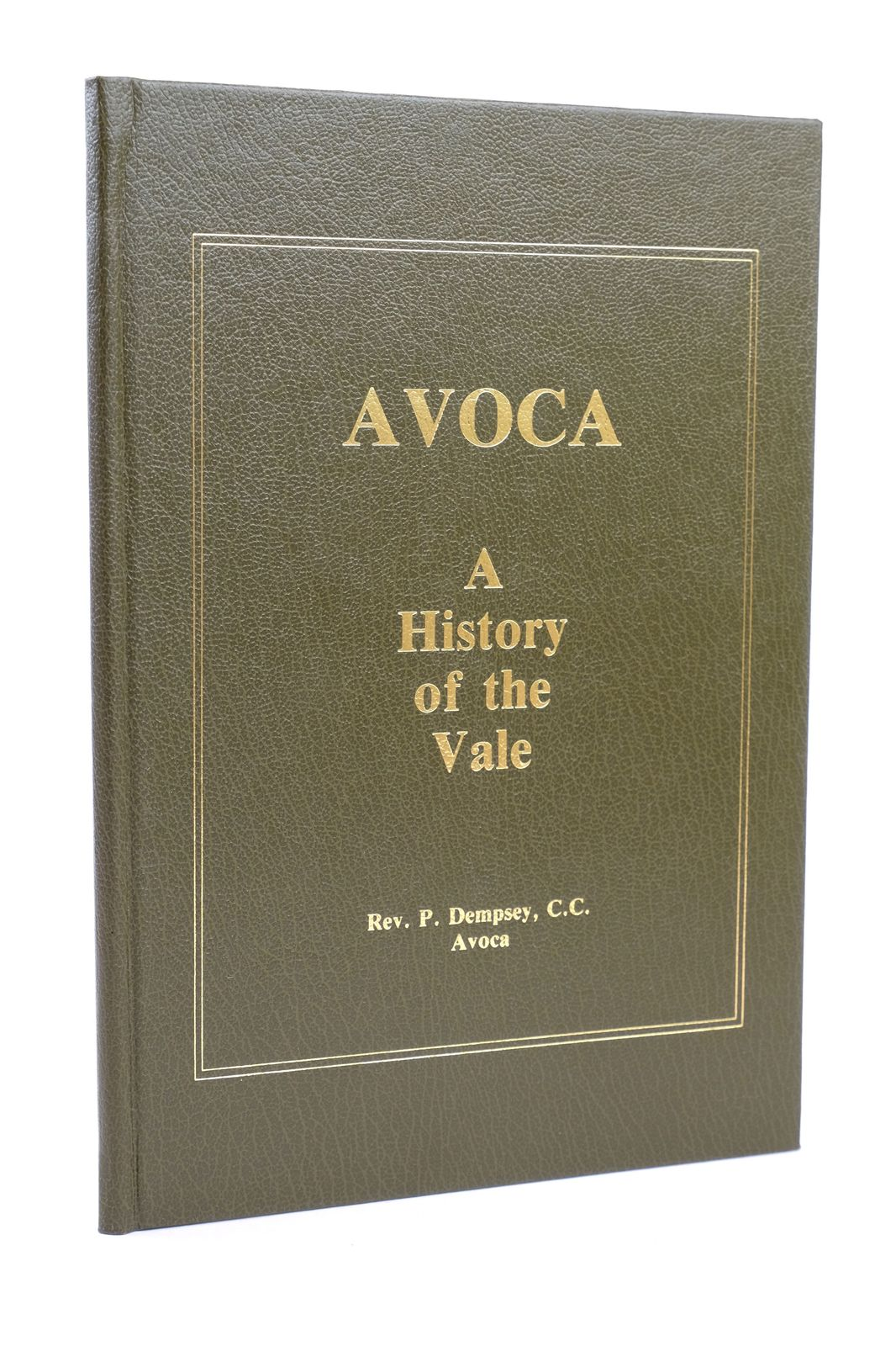 Photo of AVOCA: A HISTORY OF THE VALE- Stock Number: 1818689