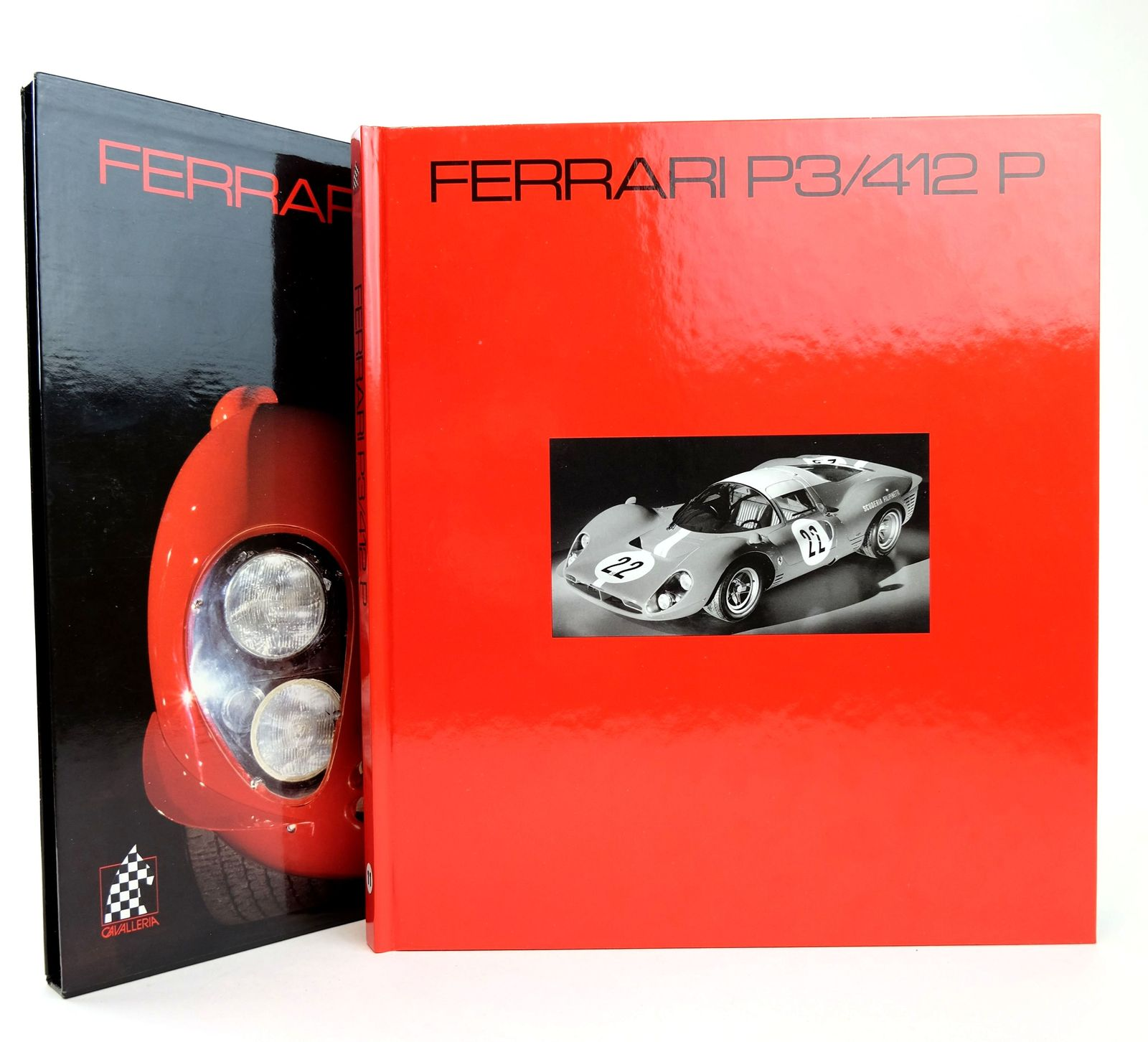 Photo of FERRARI P3/412 P written by Huet, Christian<br />Carrieri, Pietro published by Cavalleria (STOCK CODE: 1818698)  for sale by Stella & Rose's Books