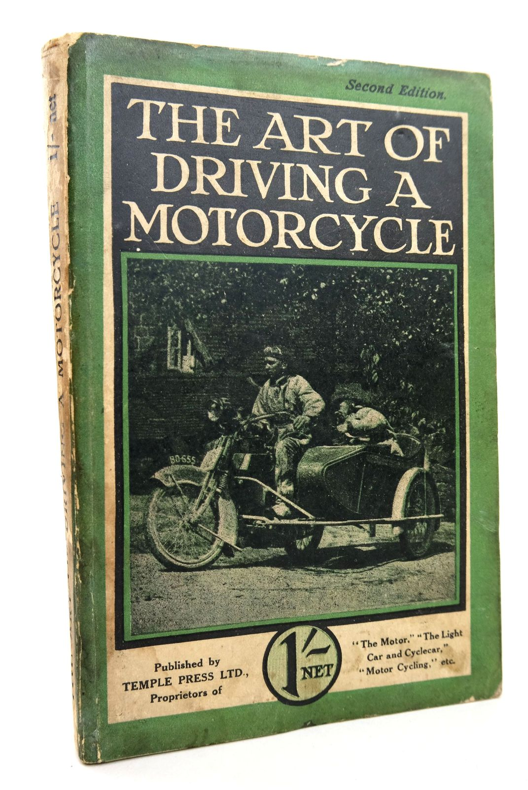 Photo of THE ART OF DRIVING A MOTORCYCLE published by Temple Press Limited (STOCK CODE: 1818717)  for sale by Stella & Rose's Books
