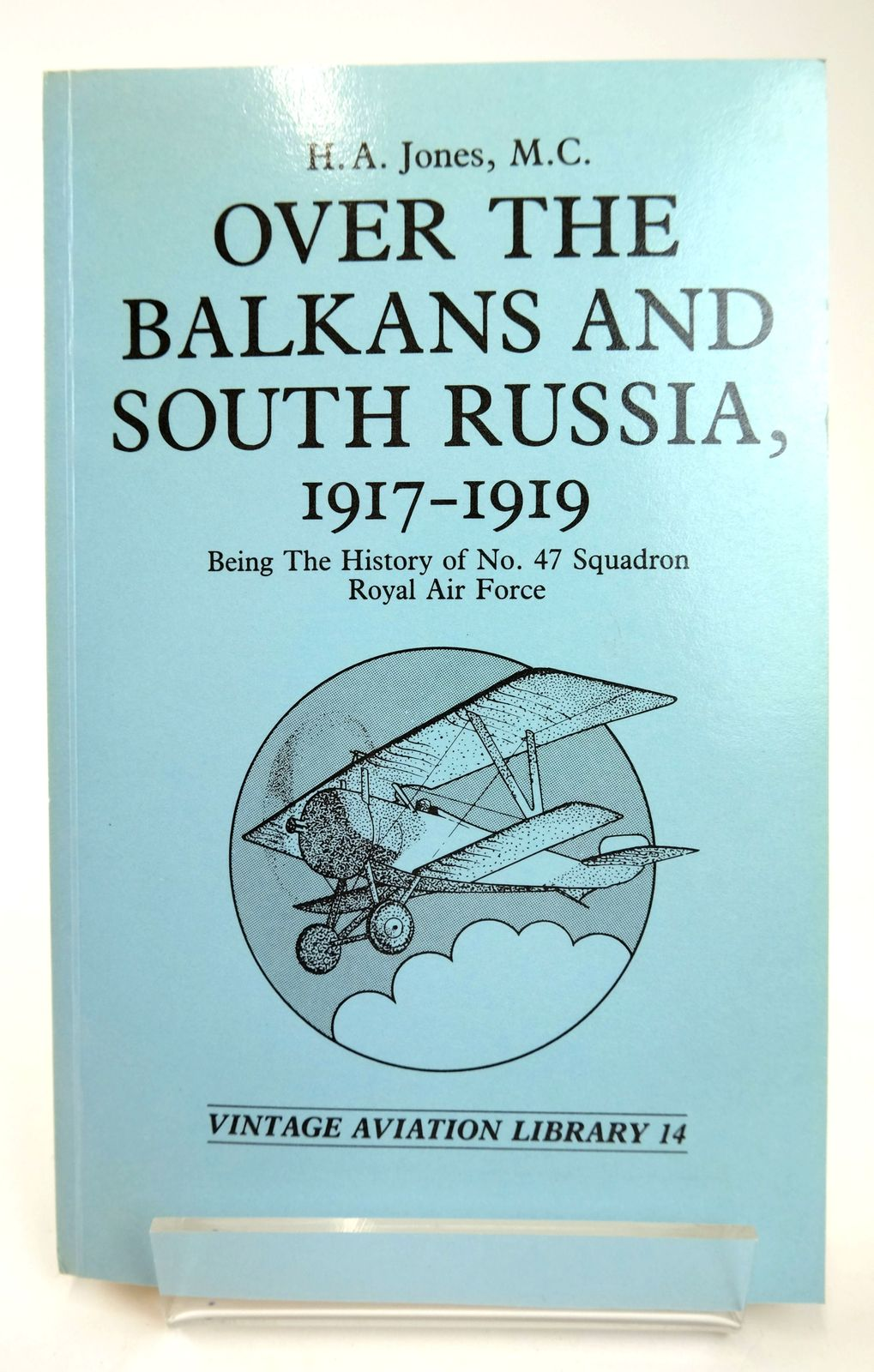 Photo of OVER THE BALKANS AND SOUTH RUSSIA, 1917-1919 written by Jones, H.A. published by Greenhill (STOCK CODE: 1818729)  for sale by Stella & Rose's Books