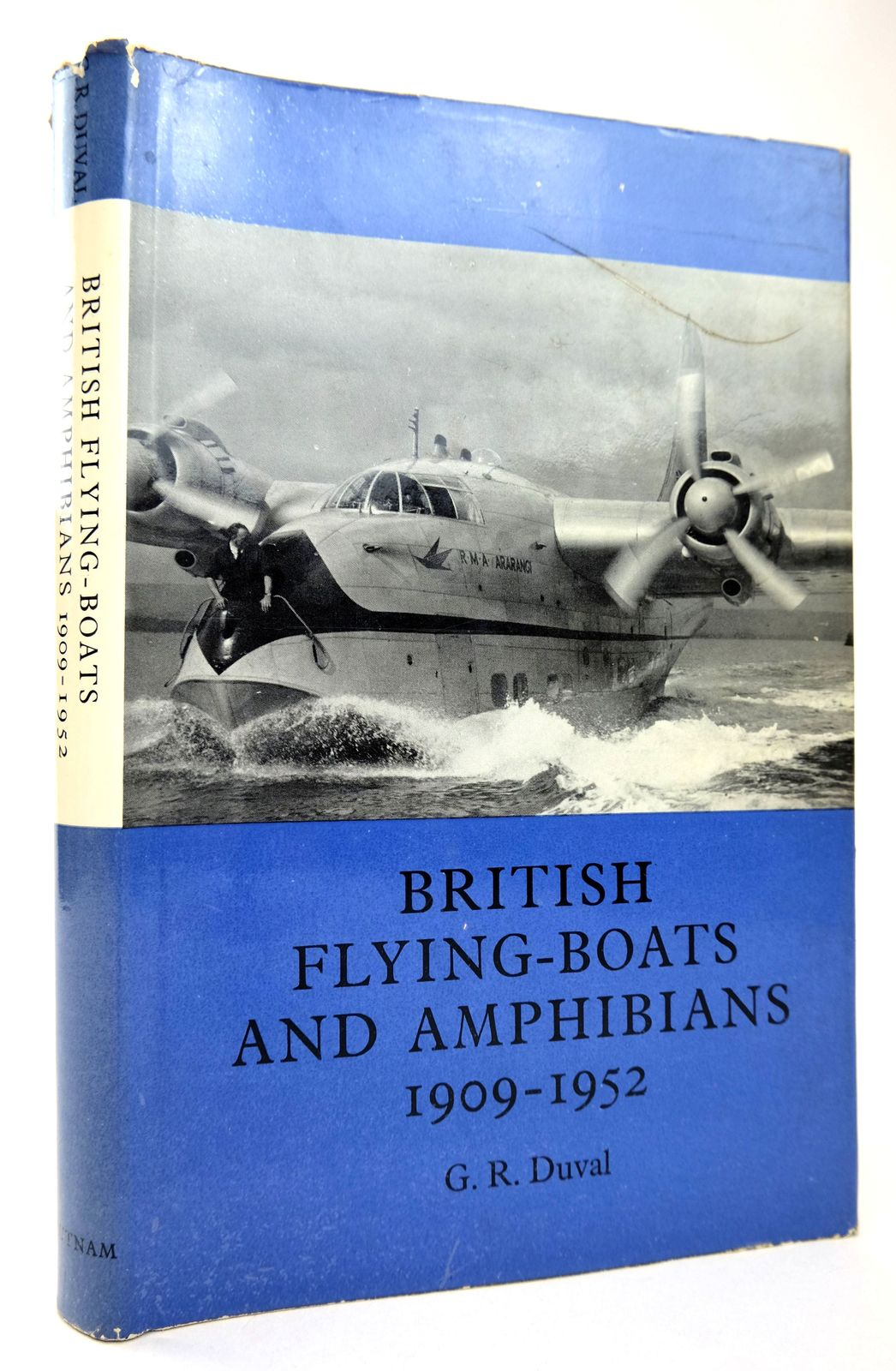 Photo of BRITISH FLYING-BOATS AND AMPHIBIANS 1909-1952 written by Duval, G.R. published by Putnam, Aero Publishers (STOCK CODE: 1818735)  for sale by Stella & Rose's Books