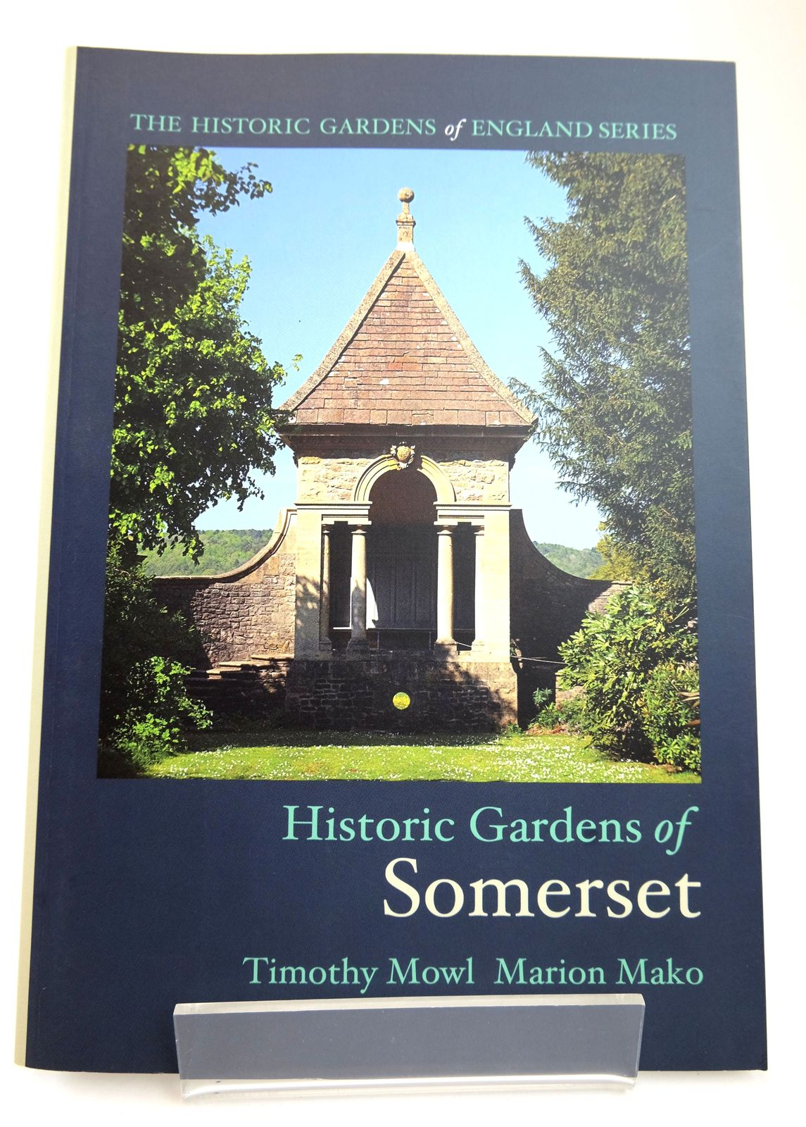 Photo of HISTORIC GARDENS OF SOMERSET written by Mowl, Timothy Mako, Marion published by Redcliffe Press Ltd. (STOCK CODE: 1818748)  for sale by Stella & Rose's Books