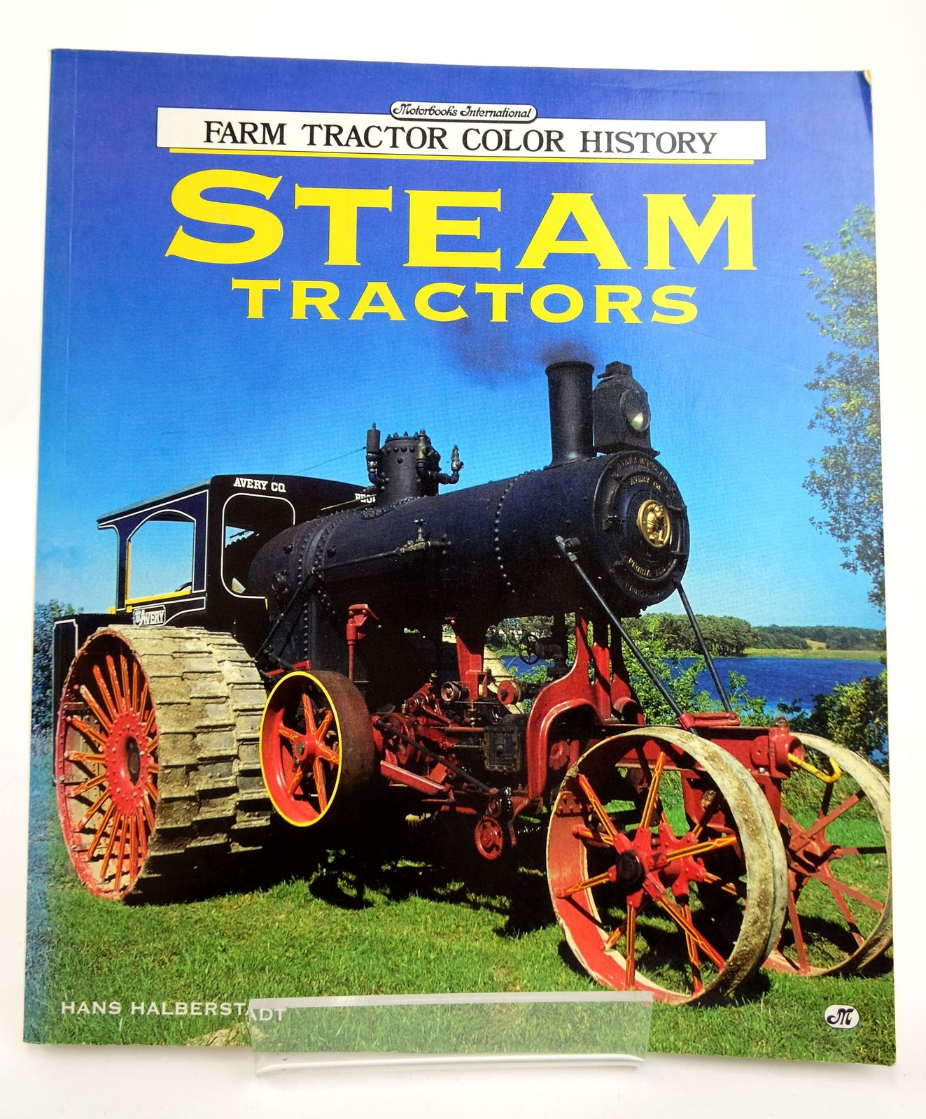 Photo of FARM TRACTOR COLOR HISTORY: STEAM TRACTORS written by Halberstadt, Hans published by Motorbooks International (STOCK CODE: 1818753)  for sale by Stella & Rose's Books