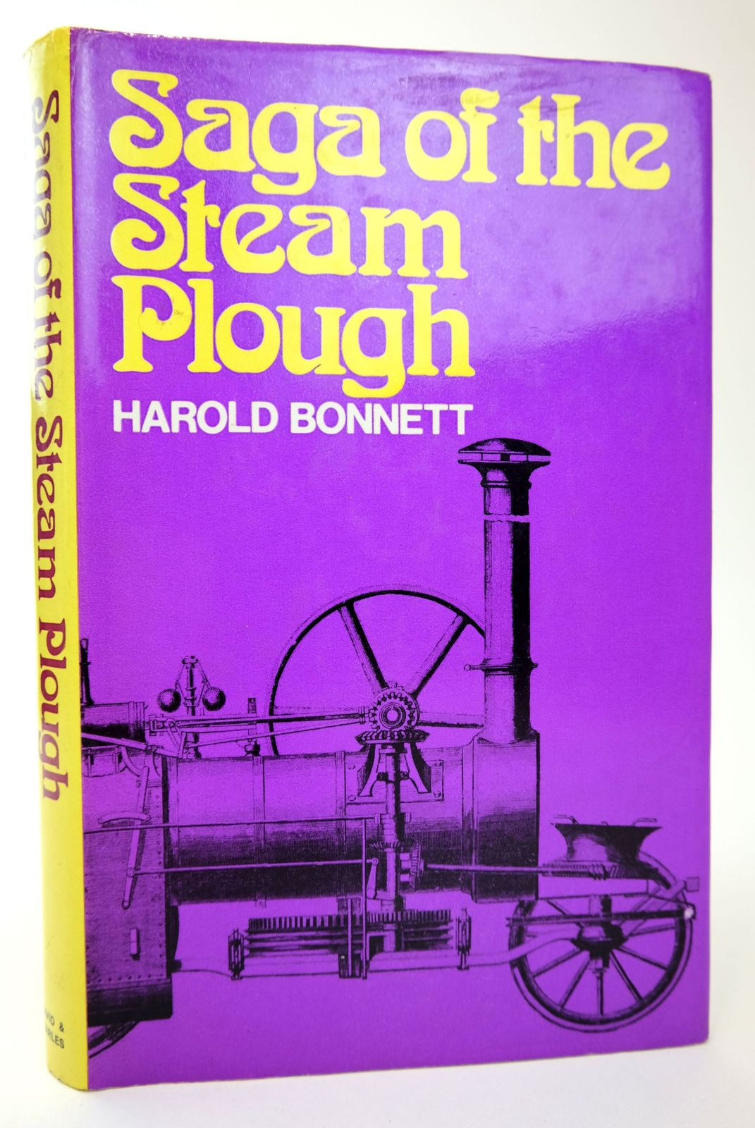 Photo of SAGA OF THE STEAM PLOUGH written by Bonnett, Harold published by David & Charles (STOCK CODE: 1818758)  for sale by Stella & Rose's Books