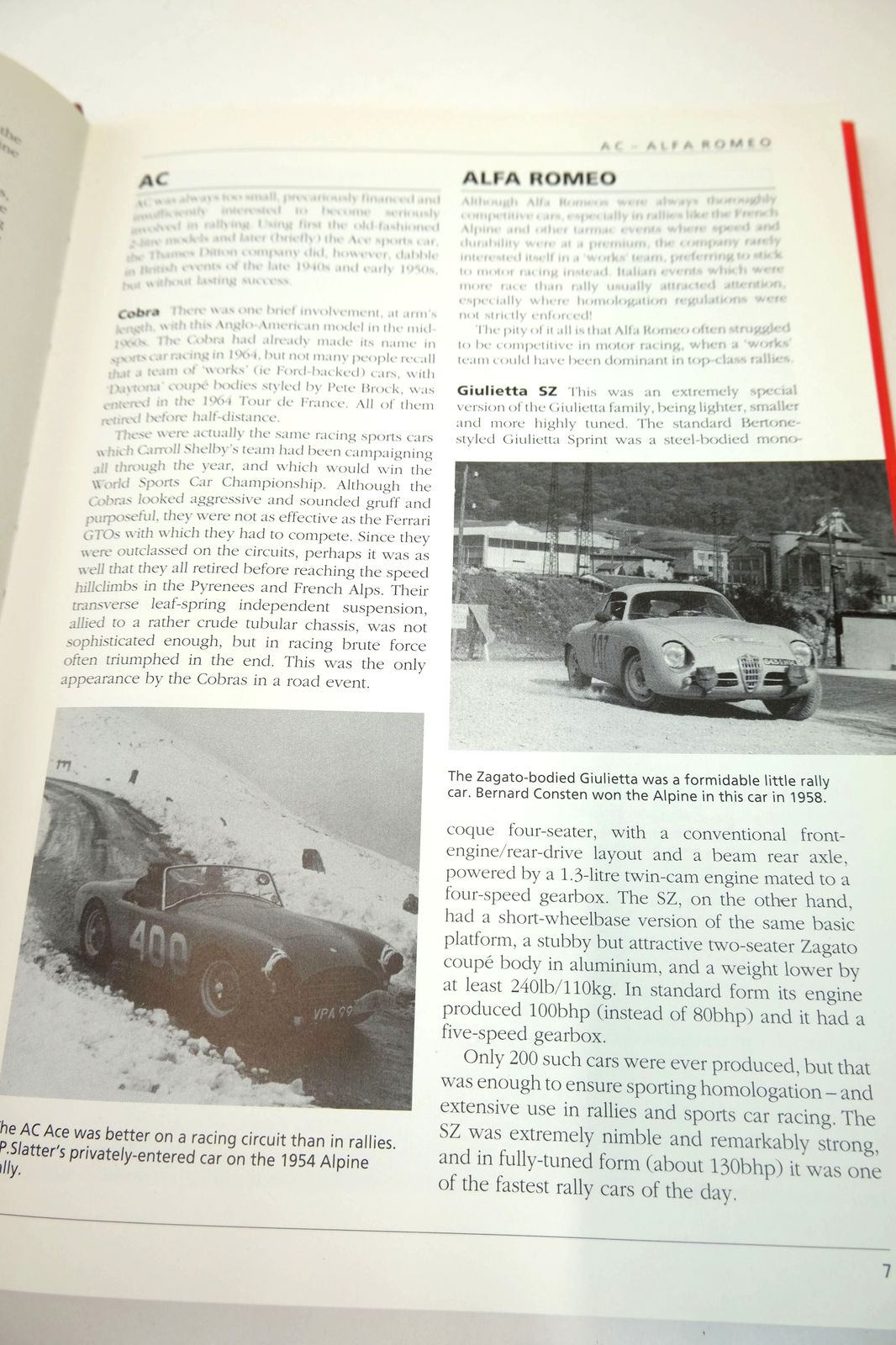 Photo of A-Z OF WORKS RALLY CARS FROM THE 1940S TO THE 1990S written by Robson, Graham published by Bay View Books (STOCK CODE: 1818759)  for sale by Stella & Rose's Books