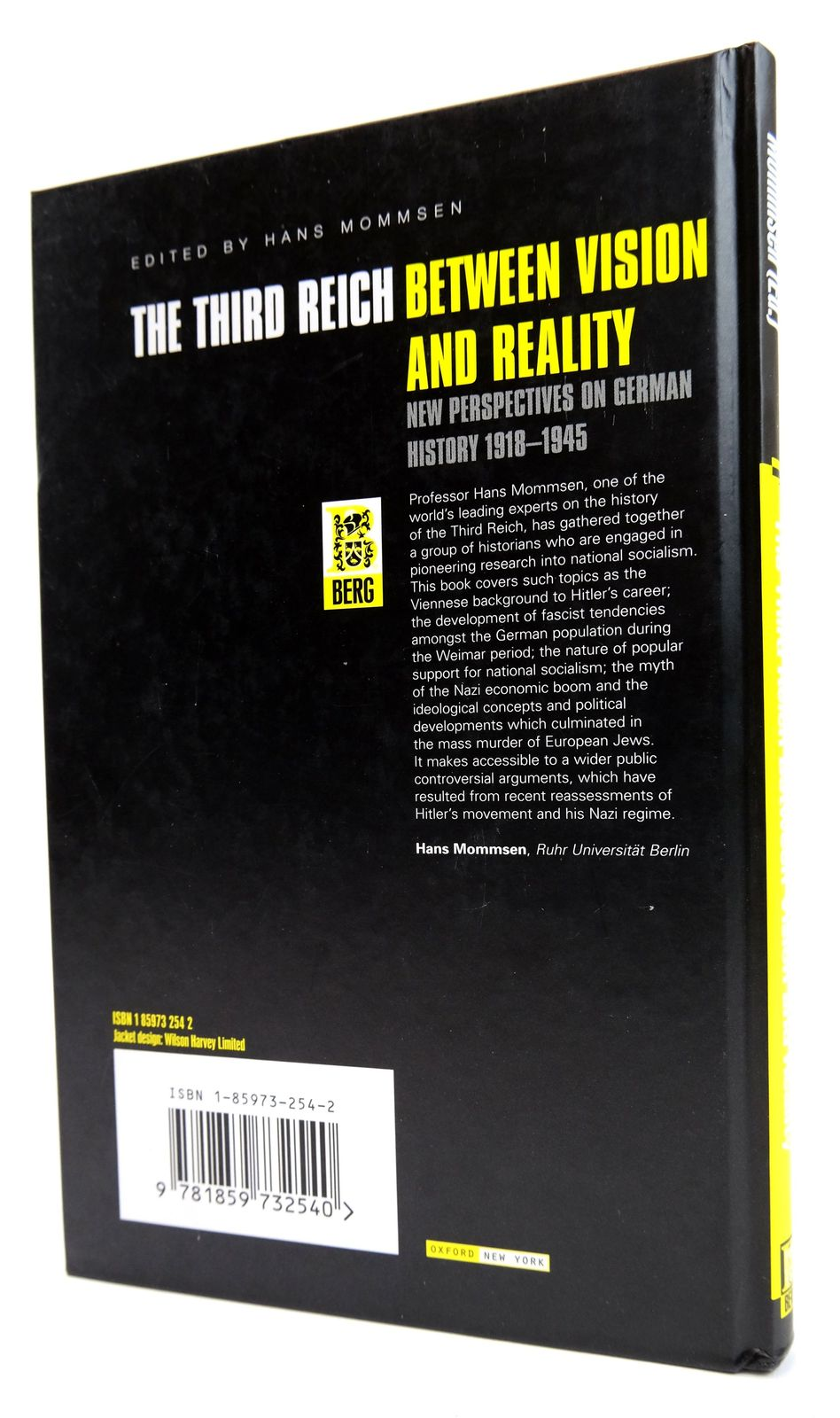 Photo of THE THIRD REICH BETWEEN VISION AND REALITY: NEW PERSPECTIVES ON GERMAN HISTORY 1918-1945 written by Mommsen, Hans published by Berg (STOCK CODE: 1818770)  for sale by Stella & Rose's Books