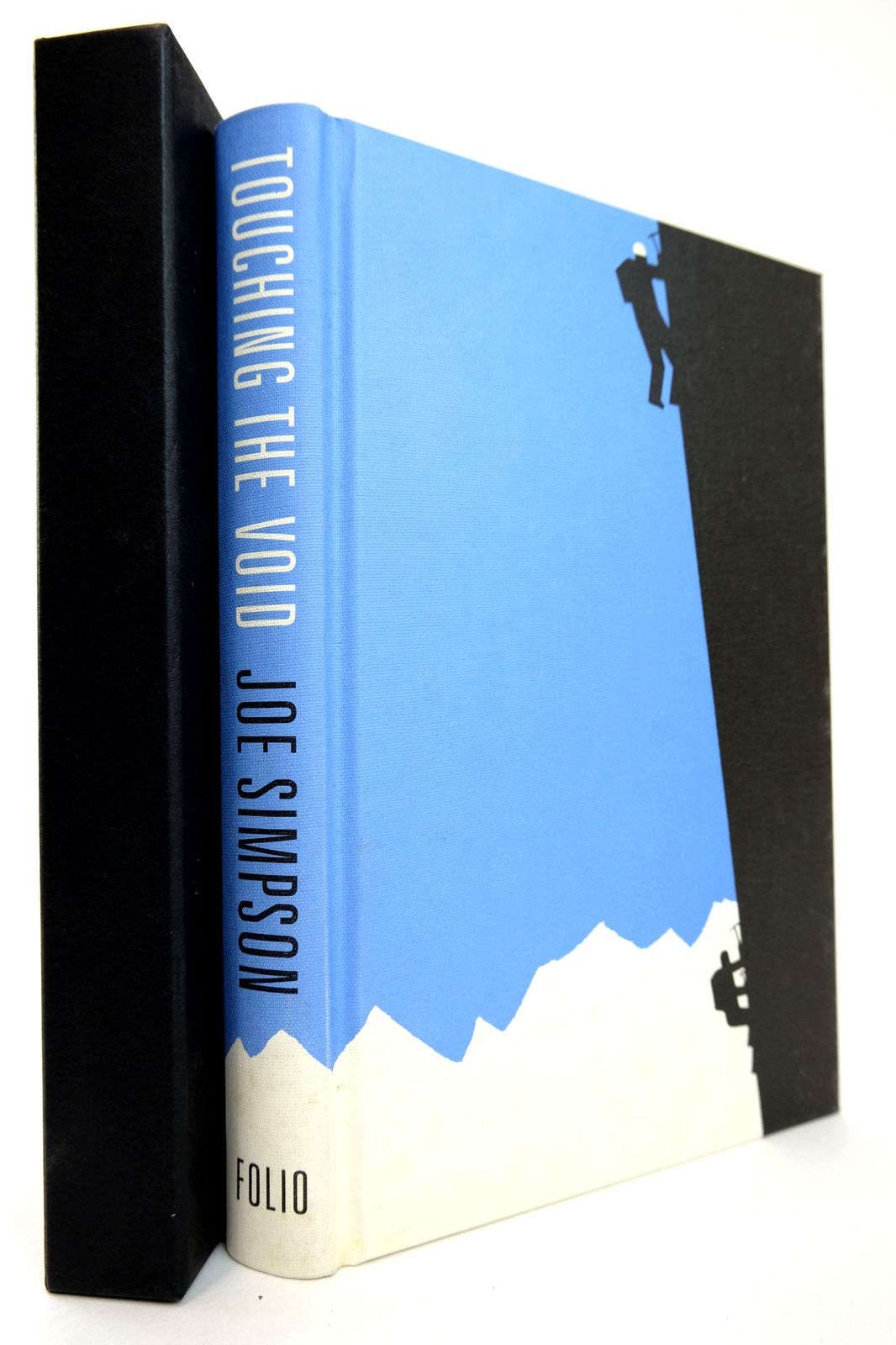 Photo of TOUCHING THE VOID written by Simpson, Joe illustrated by Grandfield, Geoff published by Folio Society (STOCK CODE: 1818777)  for sale by Stella & Rose's Books