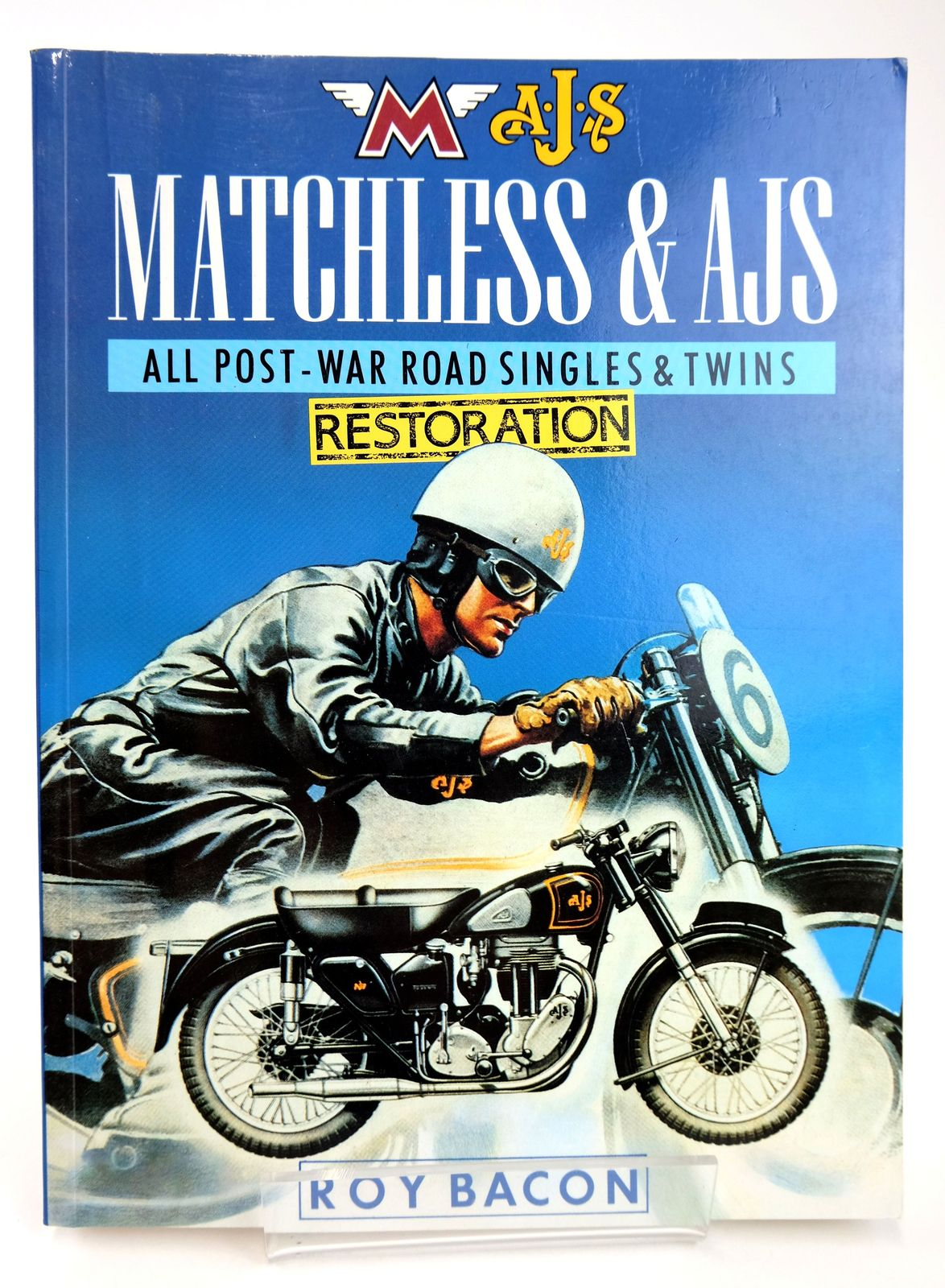 Photo of MATCHLESS & AJS ALL POST-WAR ROAD SINGLES & TWINS RESTORATION written by Bacon, Roy published by Osprey Publishing (STOCK CODE: 1818779)  for sale by Stella & Rose's Books