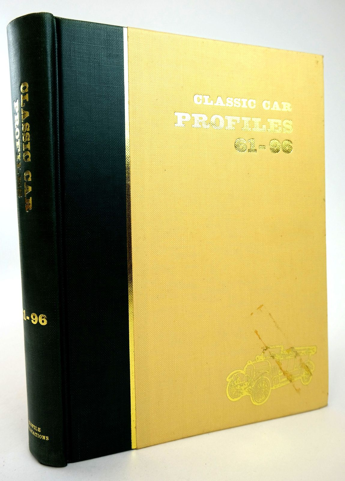 Photo of CLASSIC CAR PROFILES NOS. 61-96 written by Harding, Anthony illustrated by Davies, Gordon Leech, James et al.,  published by Profile Publications (STOCK CODE: 1818783)  for sale by Stella & Rose's Books