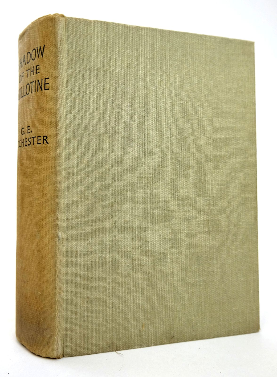 Photo of THE SHADOW OF THE GUILLOTINE written by Rochester, George E. published by Popular Library (STOCK CODE: 1818794)  for sale by Stella & Rose's Books