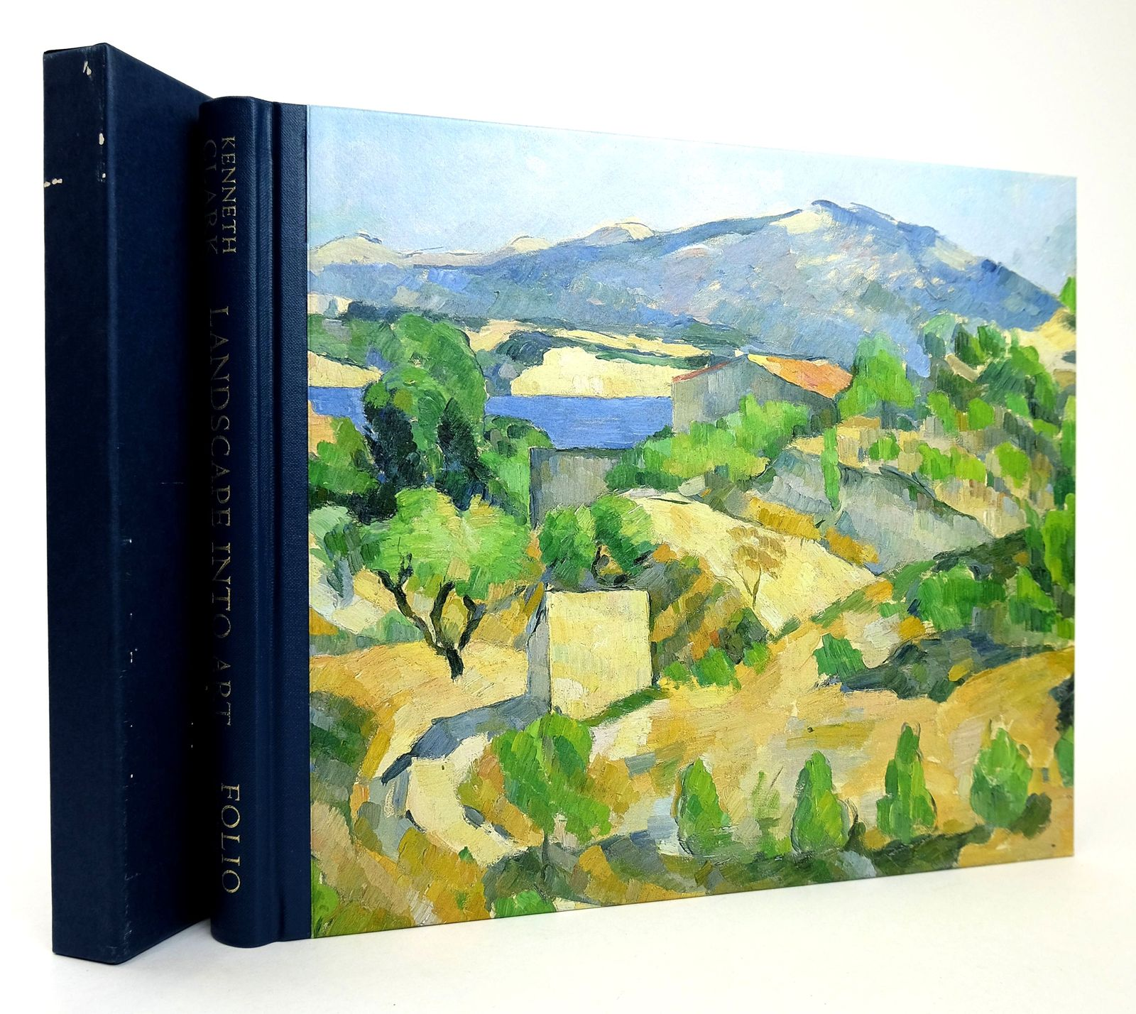 Photo of LANDSCAPE INTO ART written by Clark, Kenneth published by Folio Society (STOCK CODE: 1818796)  for sale by Stella & Rose's Books