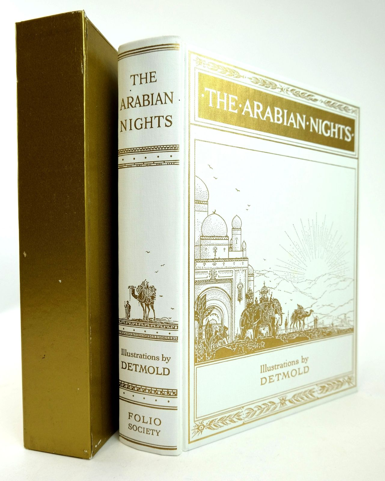 Photo of THE ARABIAN NIGHTS illustrated by Detmold, Edward J. published by Folio Society (STOCK CODE: 1818803)  for sale by Stella & Rose's Books