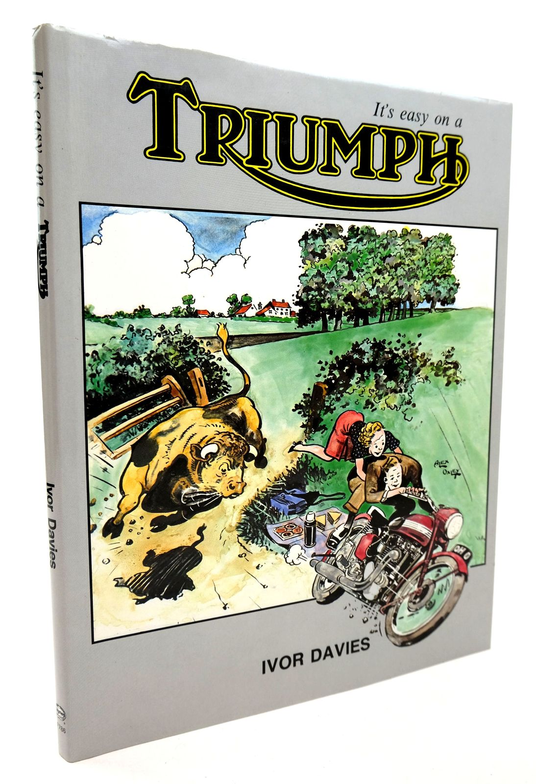 Photo of IT'S EASY ON A TRIUMPH- Stock Number: 1818804