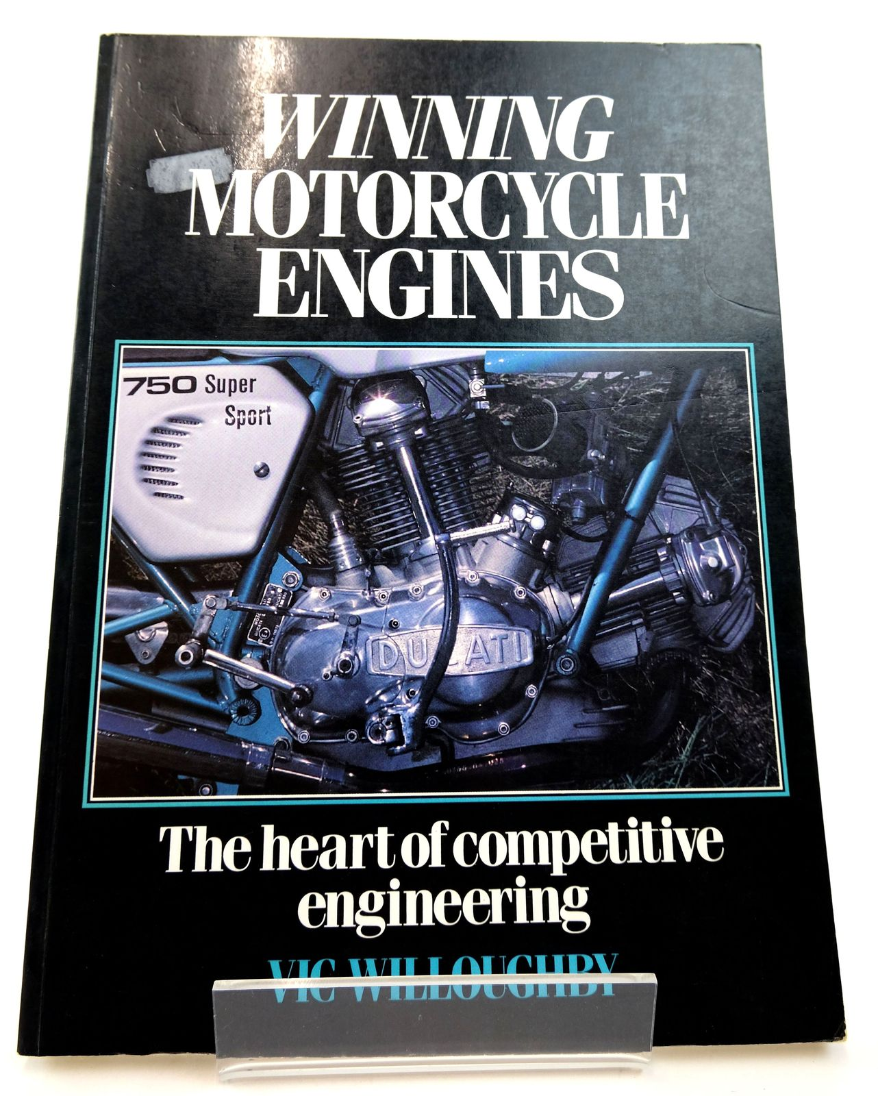 Photo of WINNING MOTORCYCLE ENGINES: THE HEART OF COMPETITIVE ENGINEERING- Stock Number: 1818811