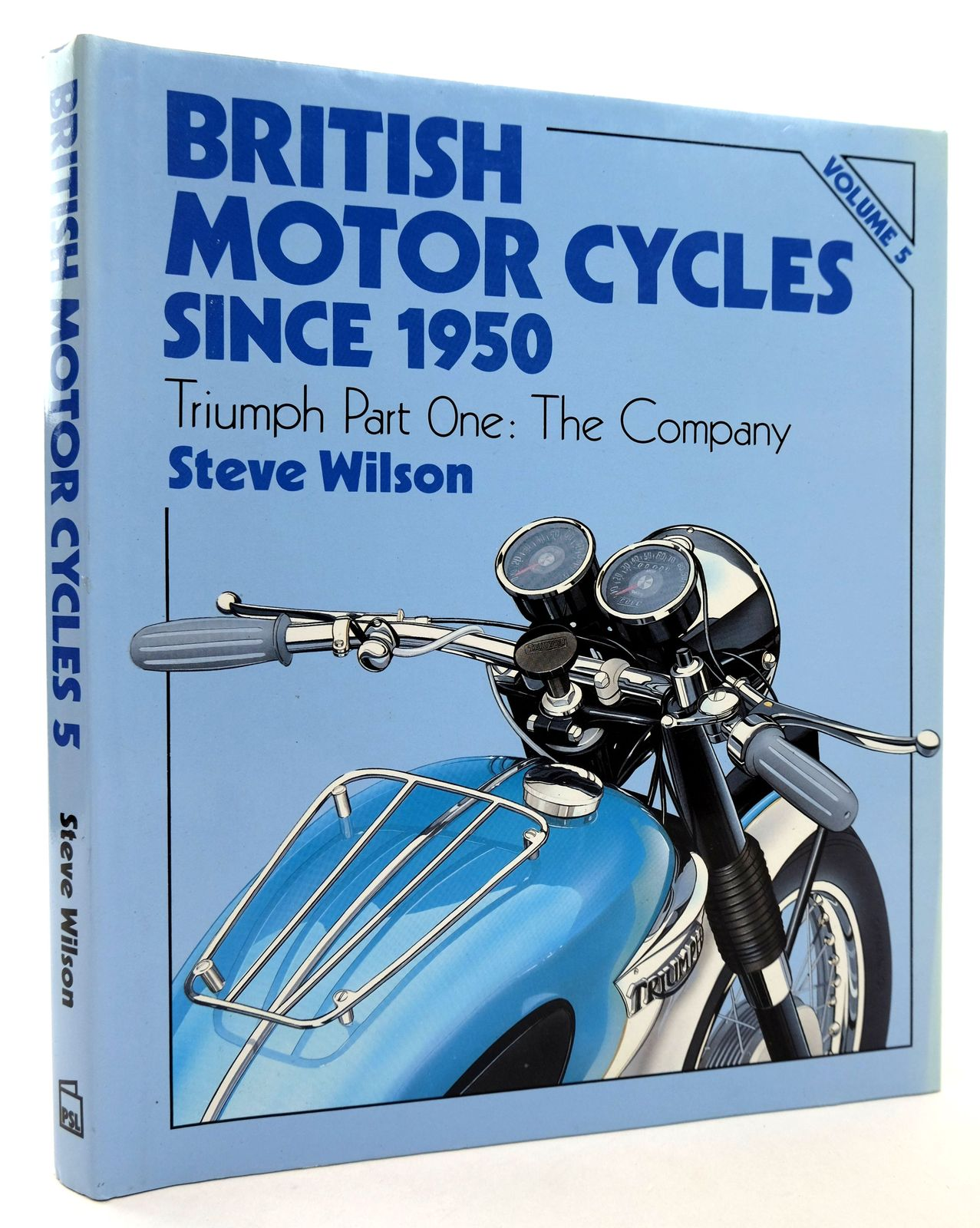 Photo of BRITISH MOTOR CYCLES SINCE 1950 VOLUME 5- Stock Number: 1818816