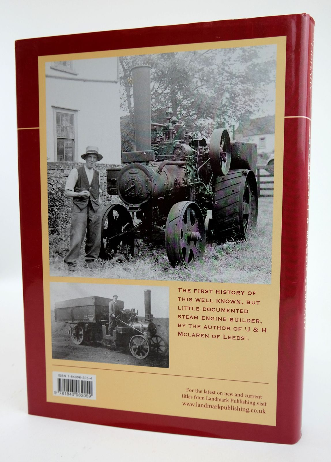 Photo of THE HISTORY OF MANN'S PATENT STEAM CART AND WAGON COMPANY written by Pease, Eur Ing John published by Landmark Publishing (STOCK CODE: 1818843)  for sale by Stella & Rose's Books