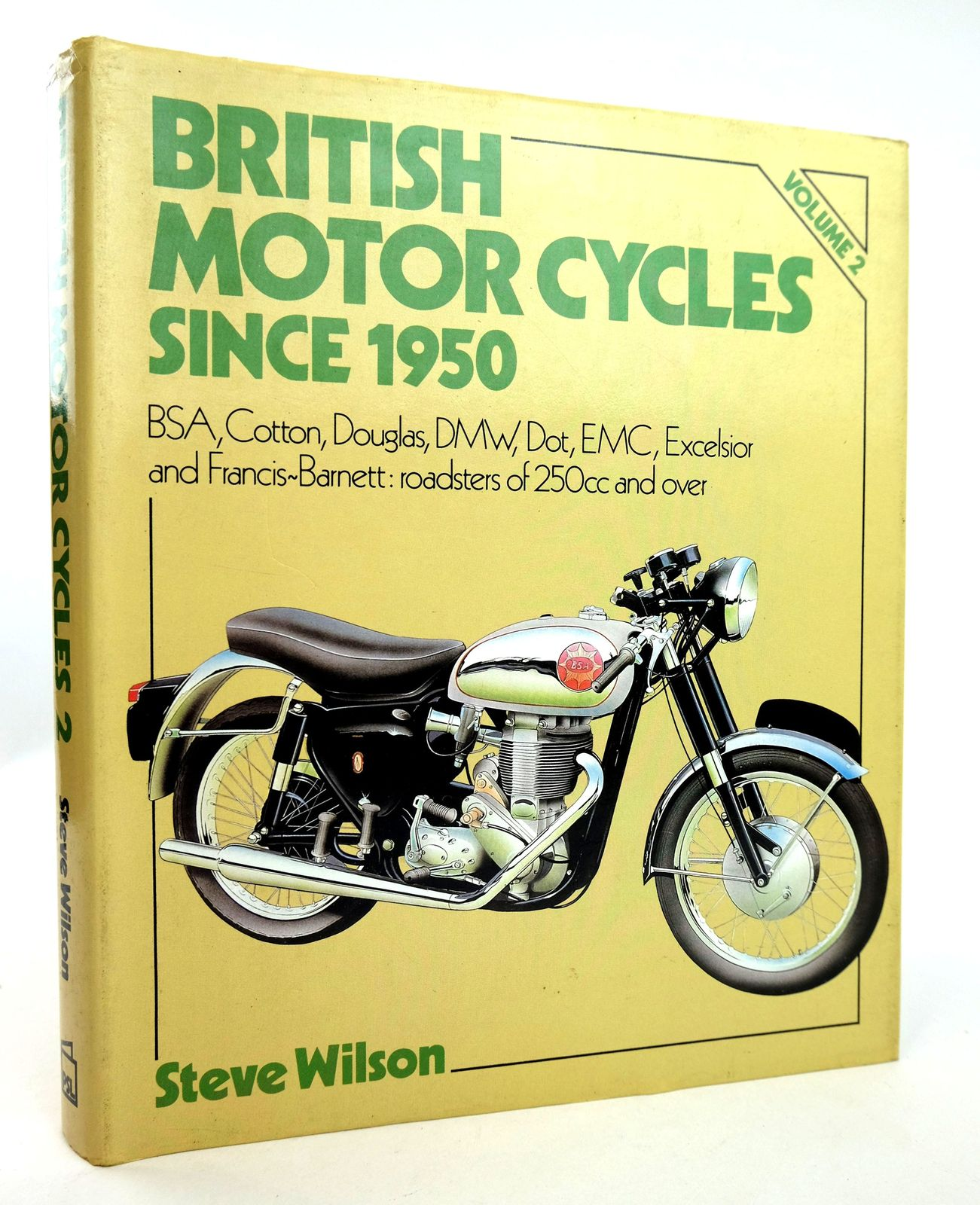 Photo of BRITISH MOTOR CYCLES SINCE 1950 VOLUME 2- Stock Number: 1818847