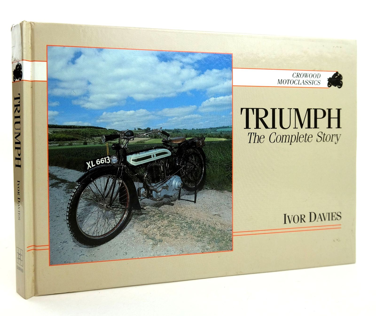 Photo of TRIUMPH THE COMPLETE STORY written by Davies, Ivor published by The Crowood Press (STOCK CODE: 1818851)  for sale by Stella & Rose's Books