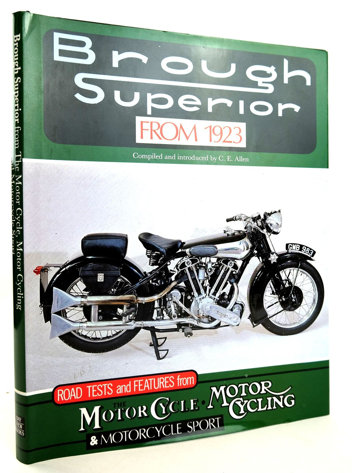 Photo of BROUGH SUPERIOR FROM 1923 written by Allen, C.E. published by Bay View Books (STOCK CODE: 1818853)  for sale by Stella & Rose's Books
