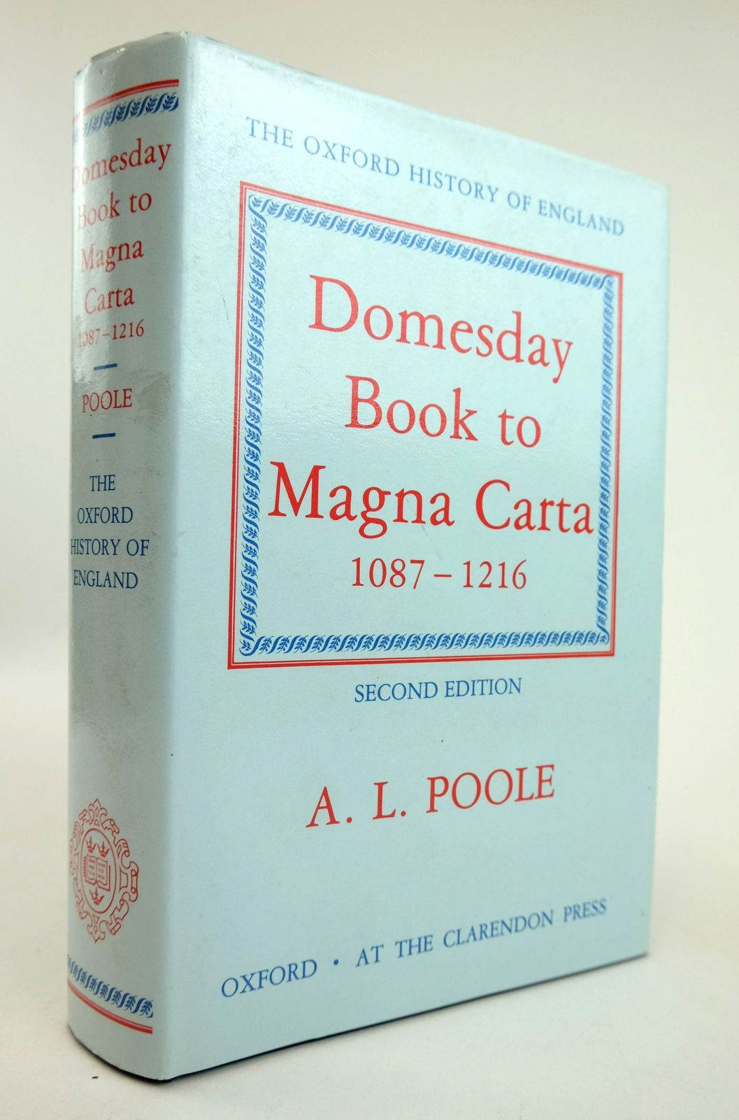 Photo of FROM DOMESDAY BOOK TO MAGNA CARTA 1087-1216 written by Poole, Austin Lane published by Oxford at the Clarendon Press (STOCK CODE: 1818859)  for sale by Stella & Rose's Books