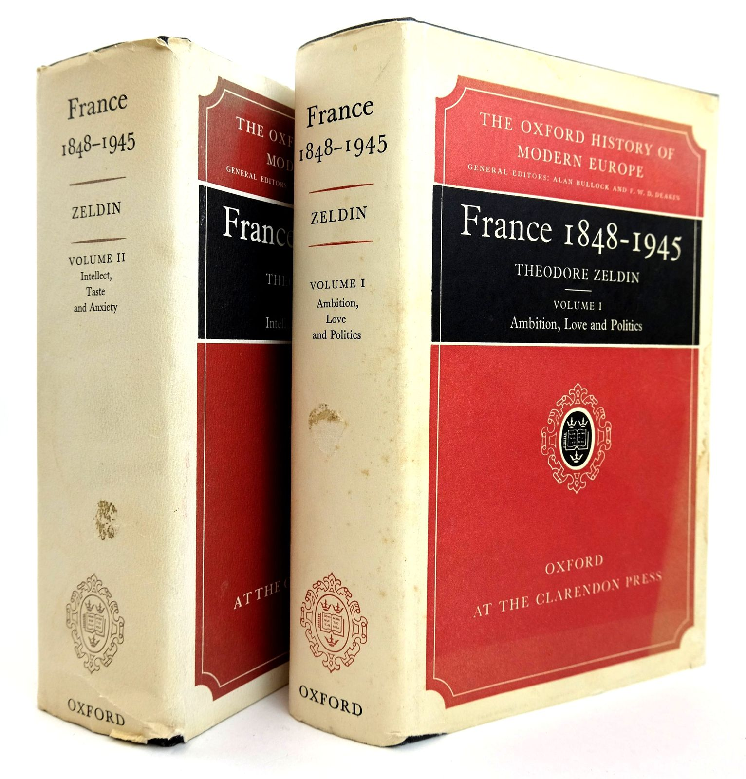 Photo of FRANCE 1848-1945 (2 VOLUMES) written by Zeldin, Theodore published by Oxford at the Clarendon Press (STOCK CODE: 1818863)  for sale by Stella & Rose's Books