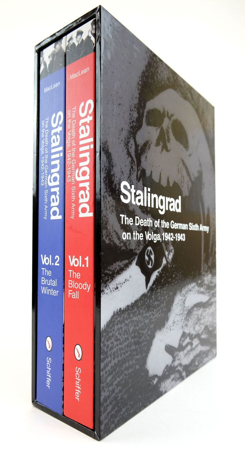 Photo of STALINGRAD: THE DEATH OF THE GERMAN SIXTH ARMY ON THE VOLGA, 1942-1943 (2 VOLUMES) written by MacLean, French L. published by Schiffer Publishing Ltd. (STOCK CODE: 1818891)  for sale by Stella & Rose's Books