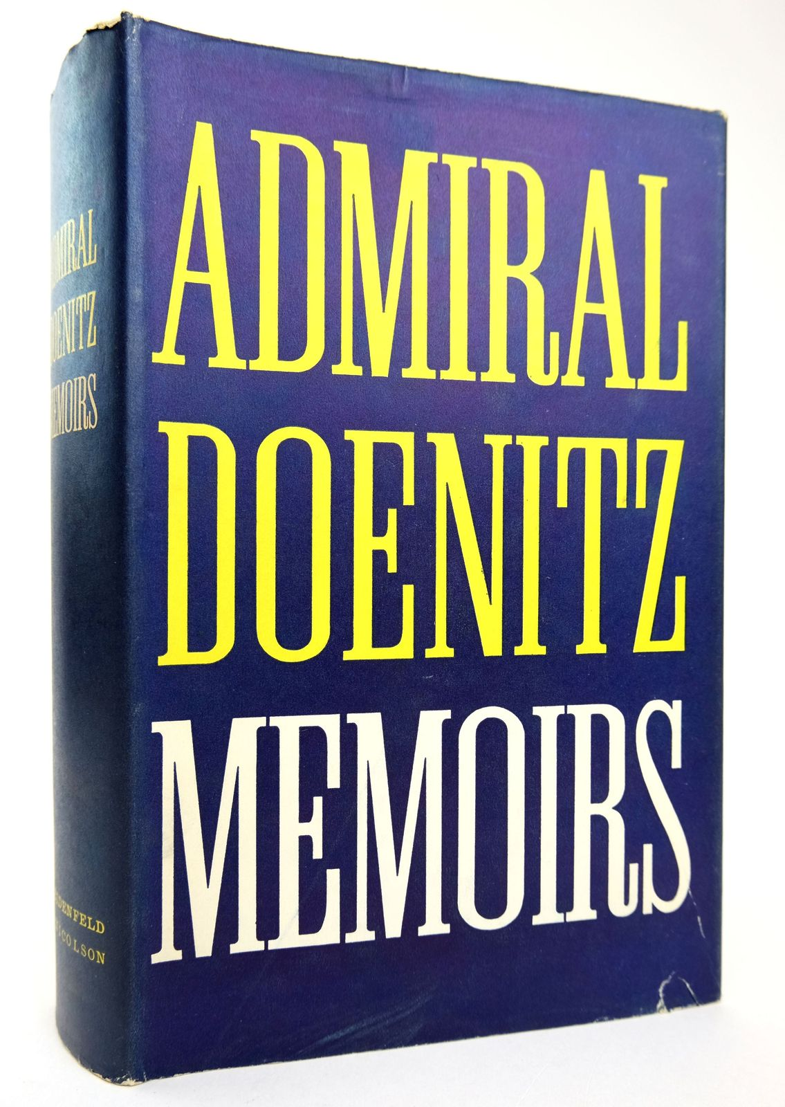 Photo of MEMOIRS: TEN YEARS AND TWENTY DAYS written by Doenitz, Admiral published by Weidenfeld and Nicolson (STOCK CODE: 1818894)  for sale by Stella & Rose's Books