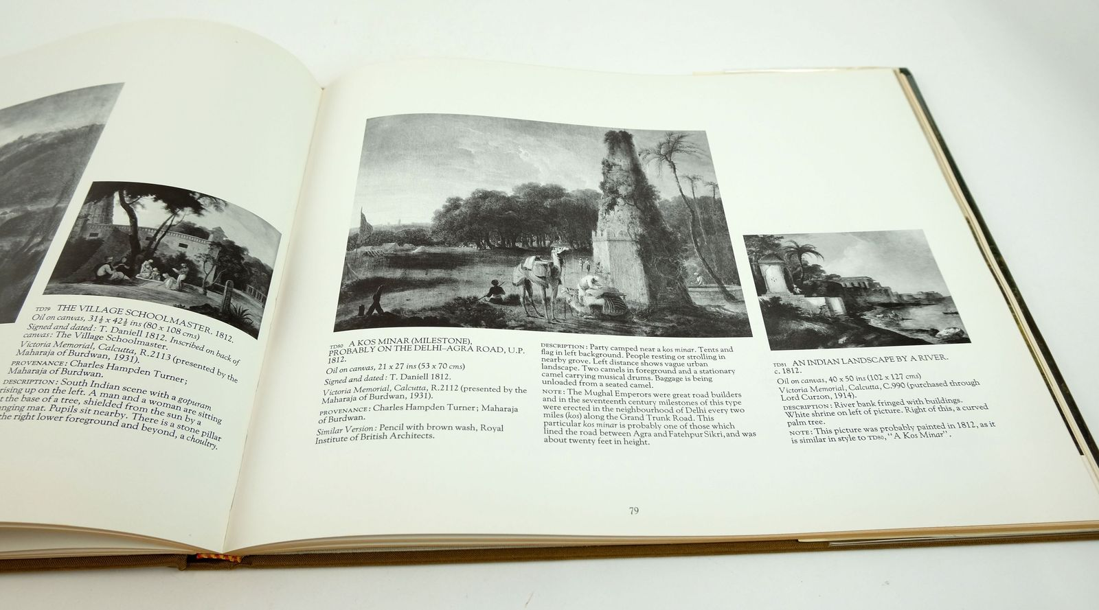 Photo of OIL PAINTINGS OF INDIA AND THE EAST BY THOMAS DANIELL RA 1749-1840 AND WILLIAM DANIELL RA 1969-1837 written by Shellim, Maurice illustrated by Daniell, Thomas Daniell, William published by Inchcape & Co. Limited (STOCK CODE: 1818910)  for sale by Stella & Rose's Books