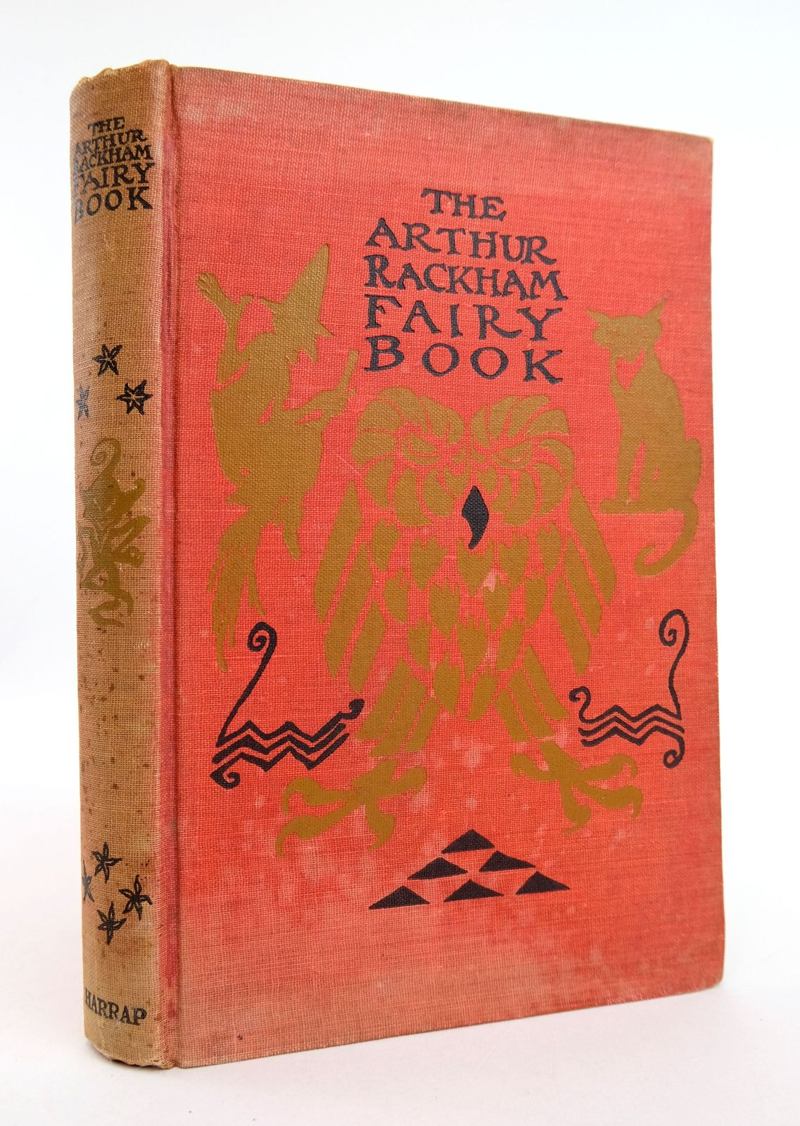 Photo of THE ARTHUR RACKHAM FAIRY BOOK illustrated by Rackham, Arthur published by George G. Harrap & Co. Ltd. (STOCK CODE: 1818912)  for sale by Stella & Rose's Books