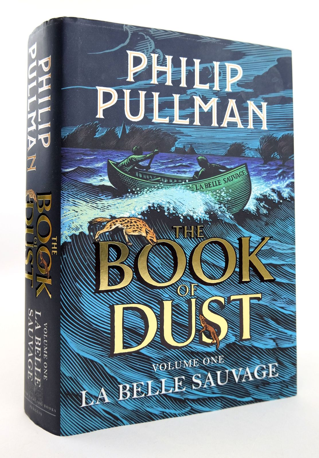 Photo of THE BOOK OF DUST VOLUME ONE: LA BELLE SAUVAGE- Stock Number: 1818913