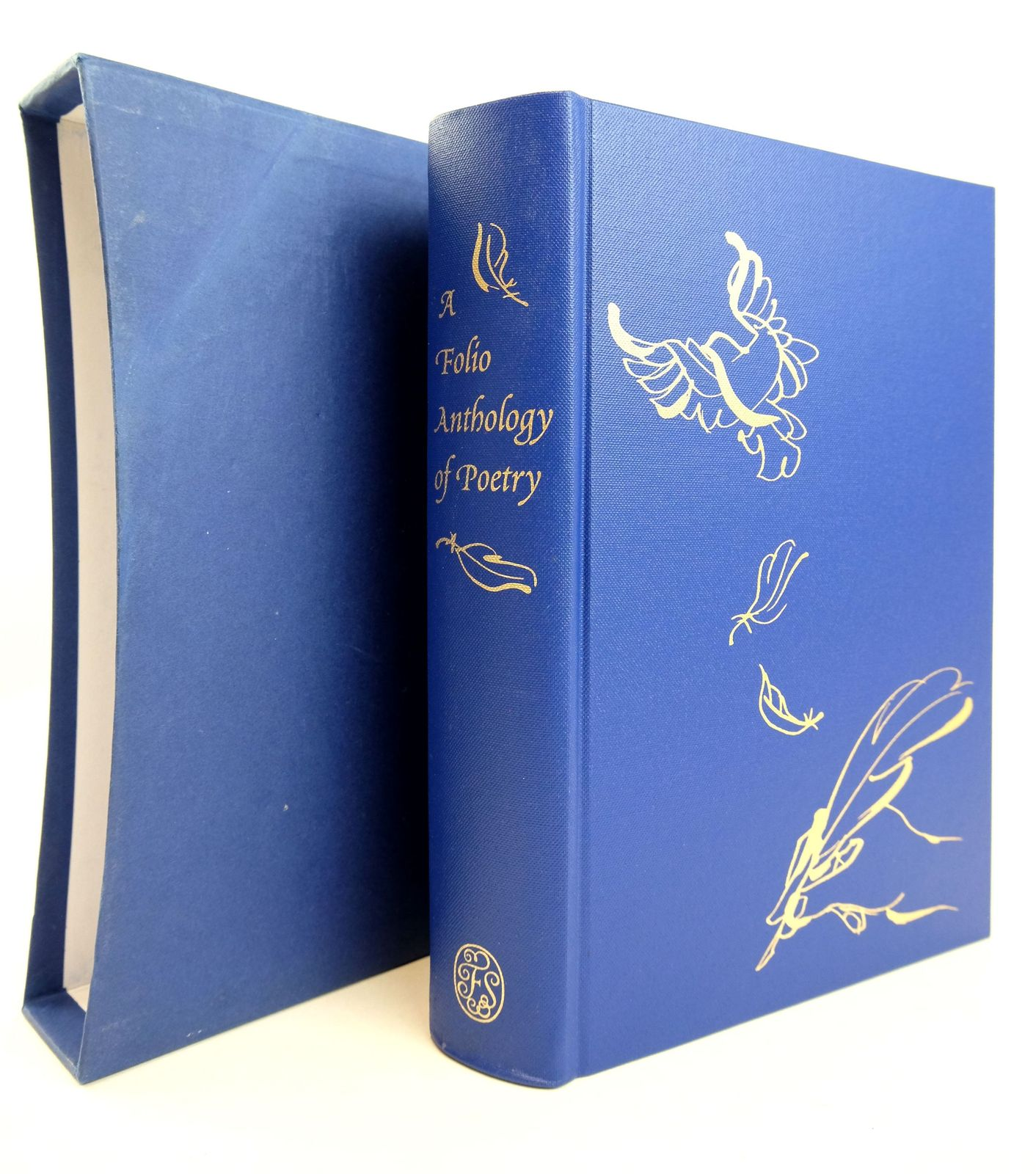 Photo of A FOLIO ANTHOLOGY OF POETRY written by Duffy, Carol Ann illustrated by Griffin, Eri published by Folio Society (STOCK CODE: 1818916)  for sale by Stella & Rose's Books