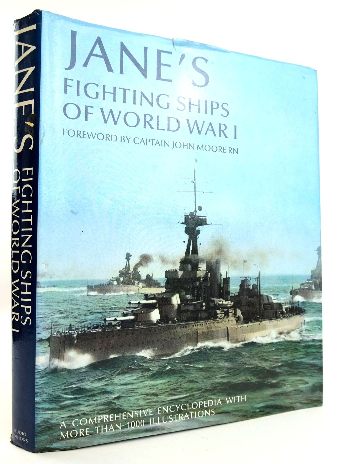 Photo of JANE'S FIGHTING SHIPS OF WORLD WAR I written by Moore, John E. published by Studio Editions (STOCK CODE: 1818918)  for sale by Stella & Rose's Books