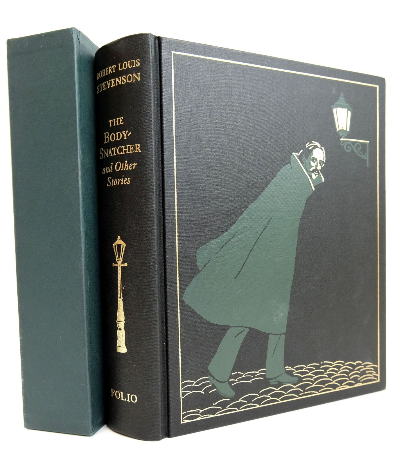 Photo of THE BODY-SNATCHER AND OTHER STORIES written by Stevenson, Robert Louis illustrated by Foreman, Michael published by Folio Society (STOCK CODE: 1818926)  for sale by Stella & Rose's Books